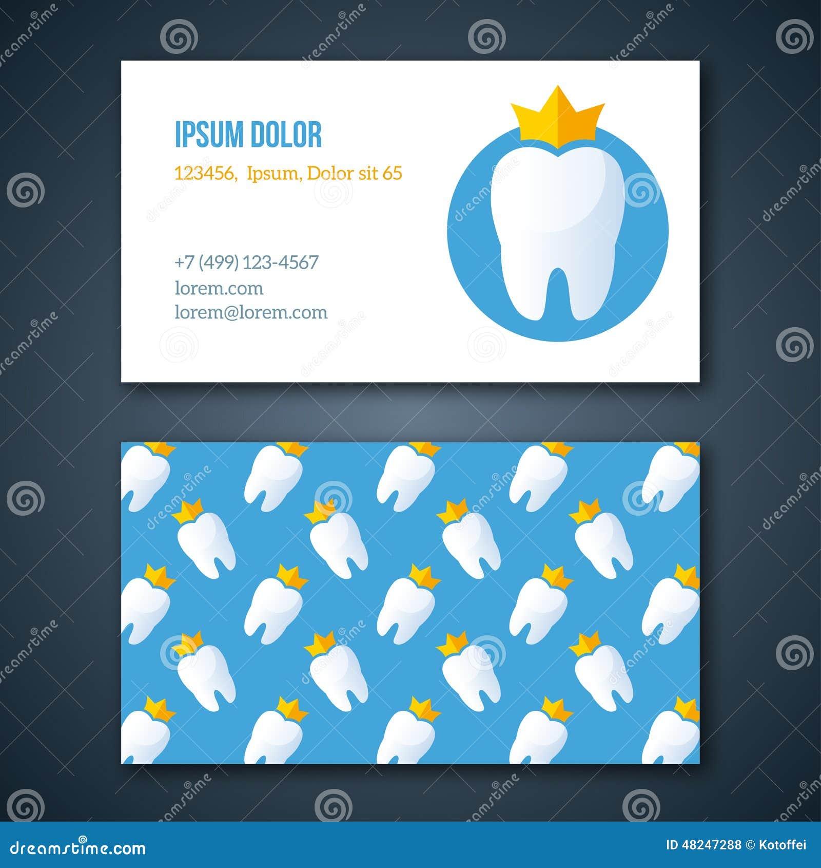 Dental Clinic Corporate Identity Template. Stock Vector ...