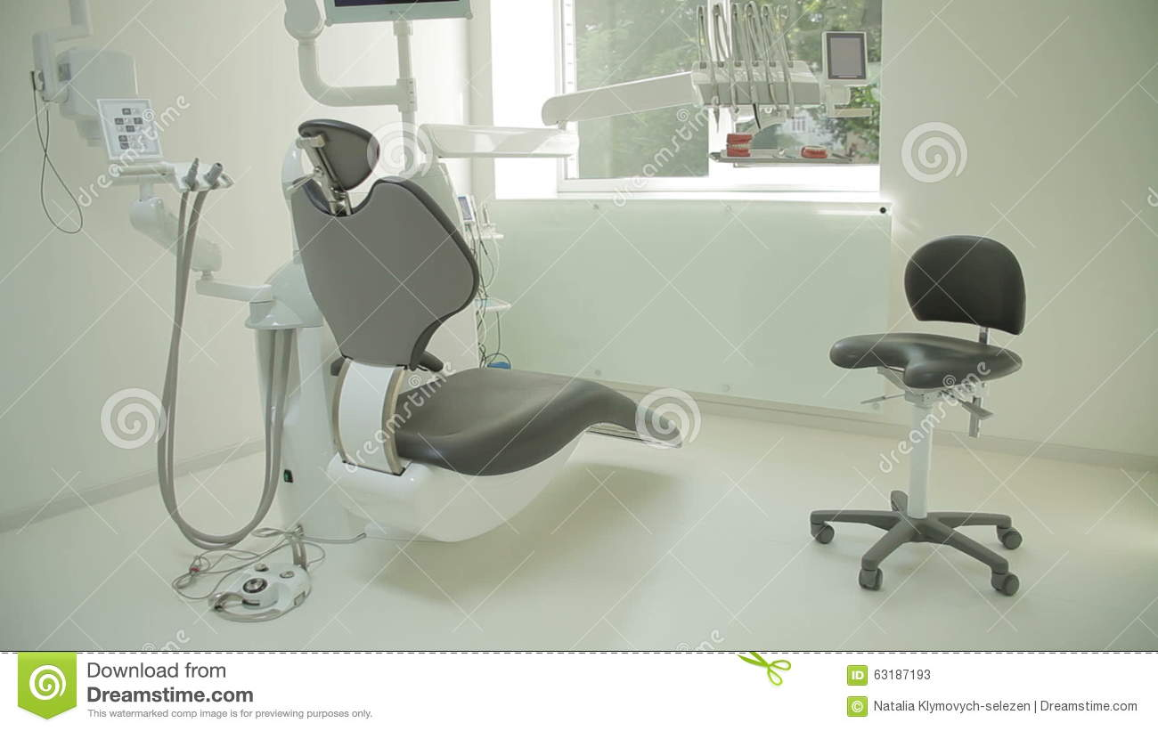Dental Clinic Interior Design With Chair And Tools. Contemporary ...