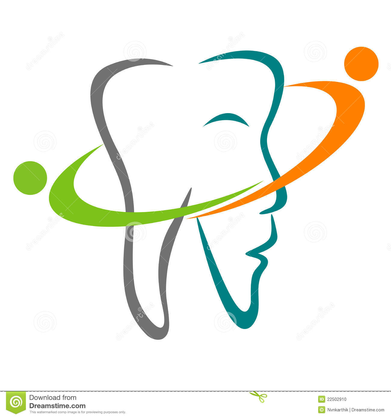Dental Logo Stock Photo - Image: 22502910