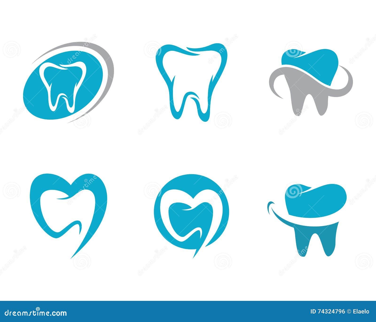 Dental Logo Template Stock Vector - Image: 74324796