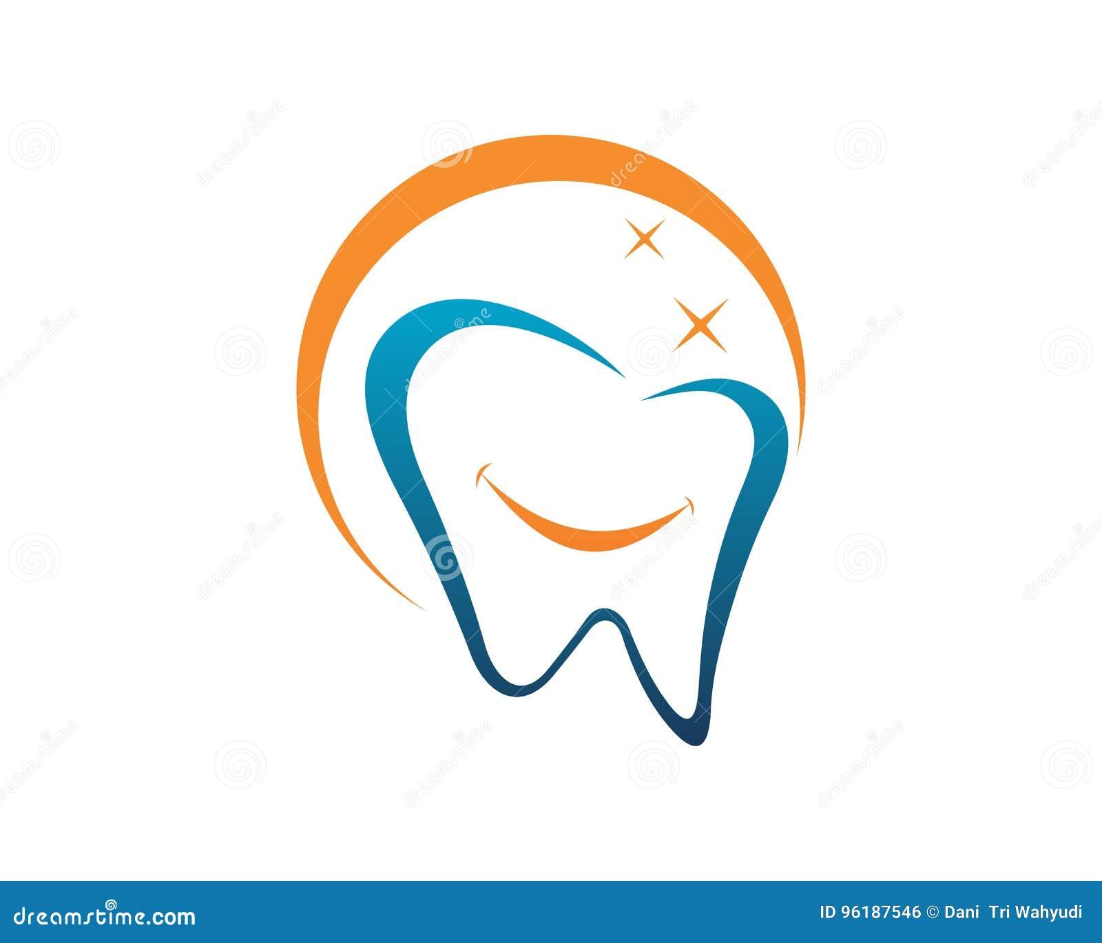 Dental Logo Template Vector Royalty Free Download