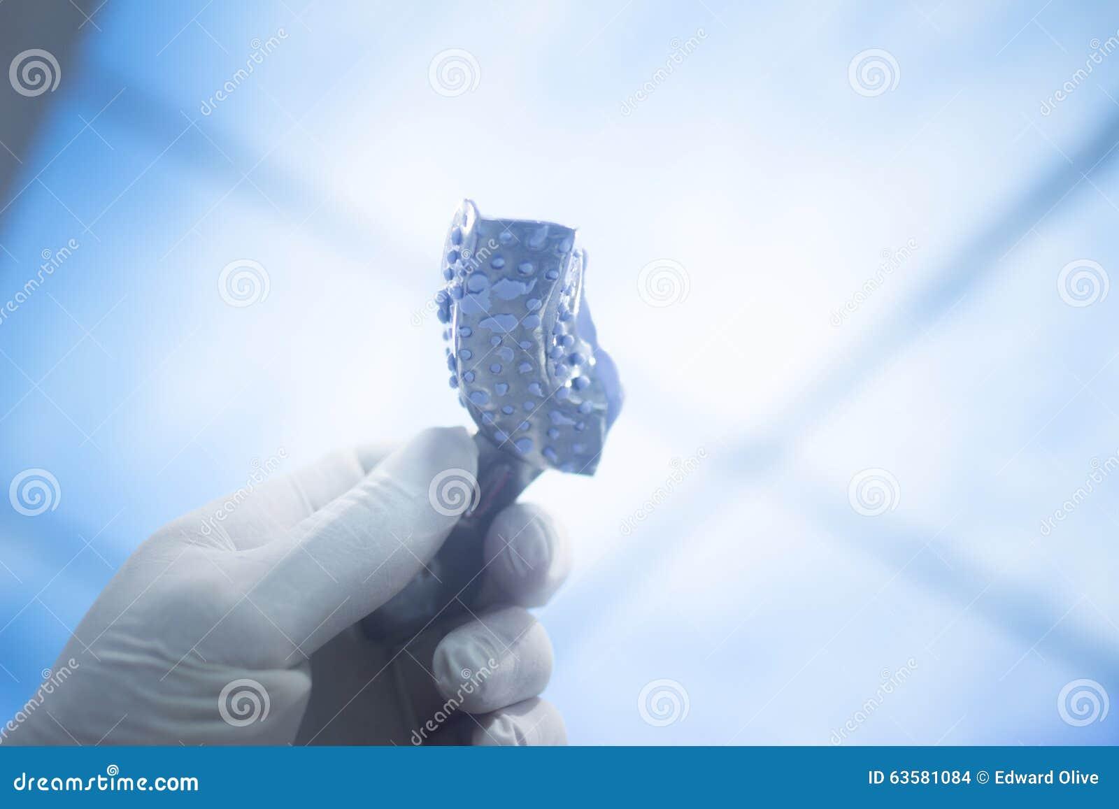 Dental mold dentists clay teeth gel gum plate cast