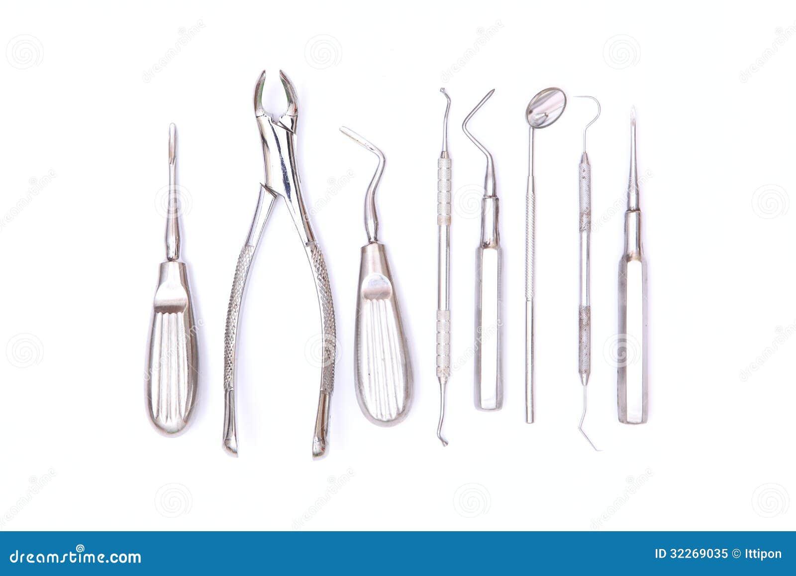 Dental Tools Royalty Free Stock Photo - Image: 32269035