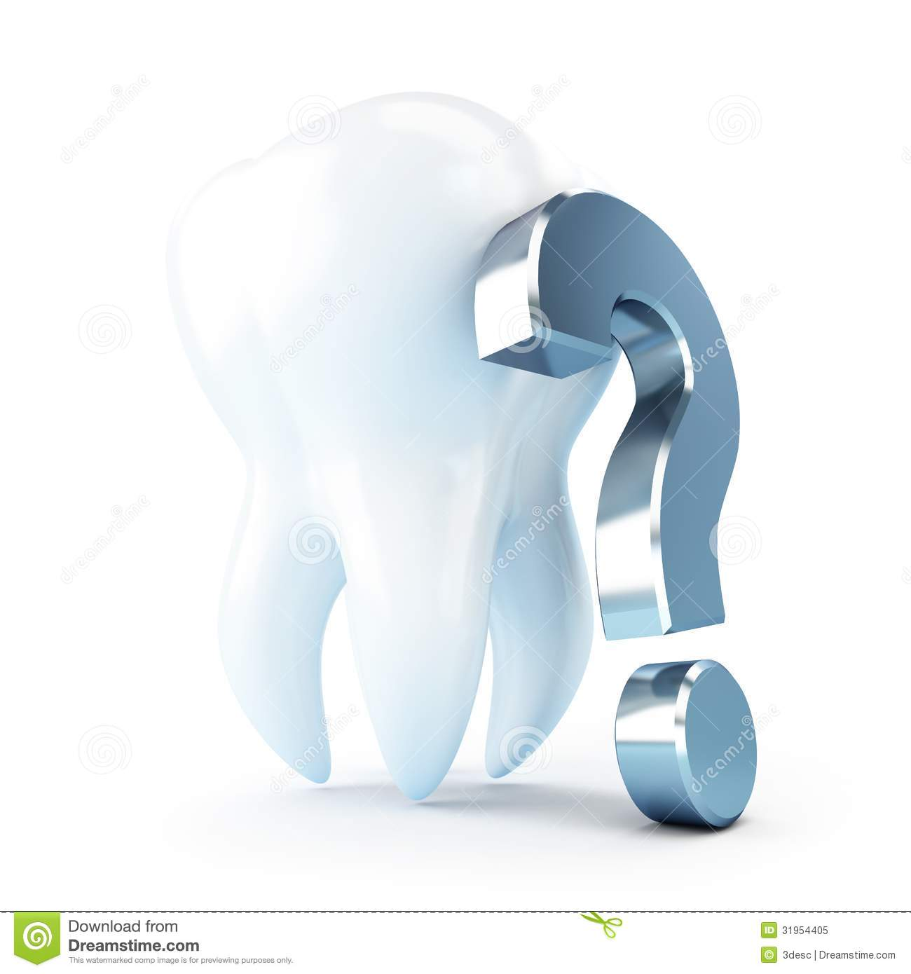 Dental Treatment Under A Question Mark Royalty Free Stock Photo ...