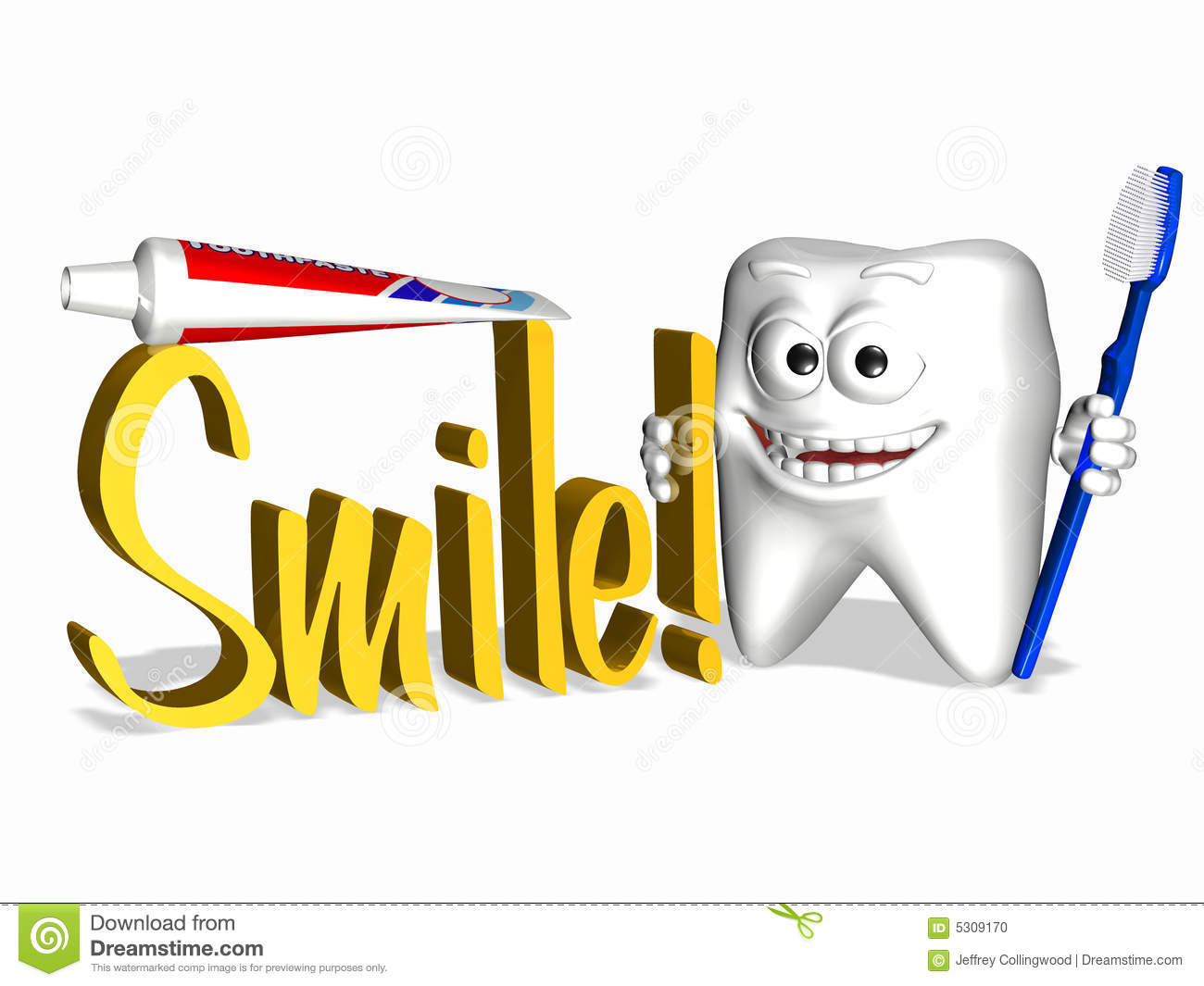 Download Dente di smiley - sorriso illustrazione di stock. Illustrazione di dentista - 5309170
