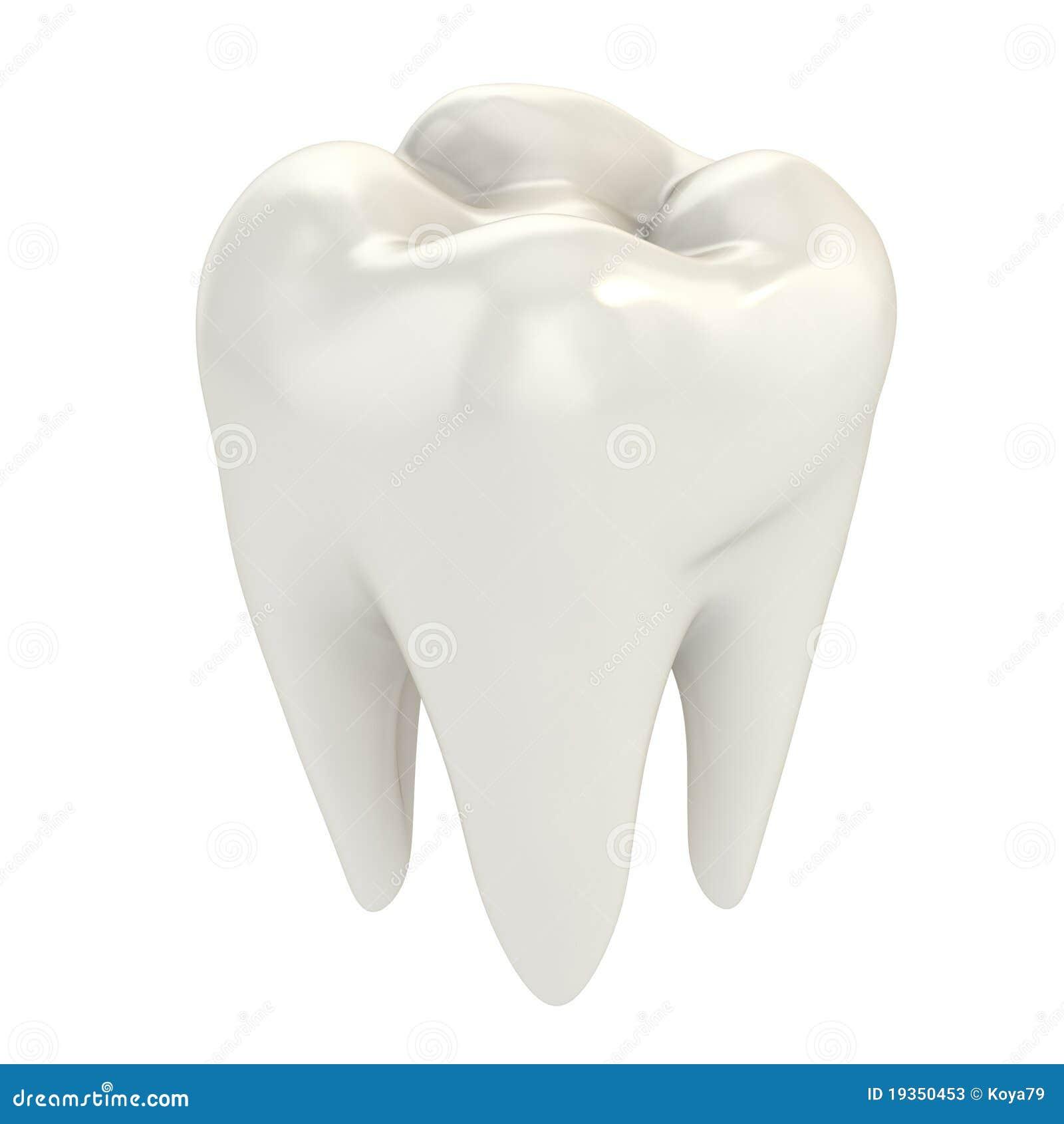 Dente isolado