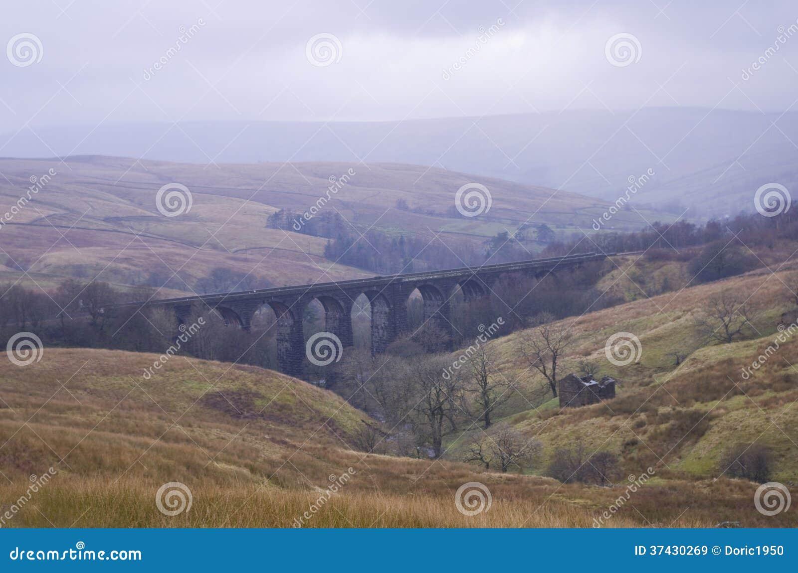Dentheadviaduct. De Dallen van Yorkshire, Nationaal Park