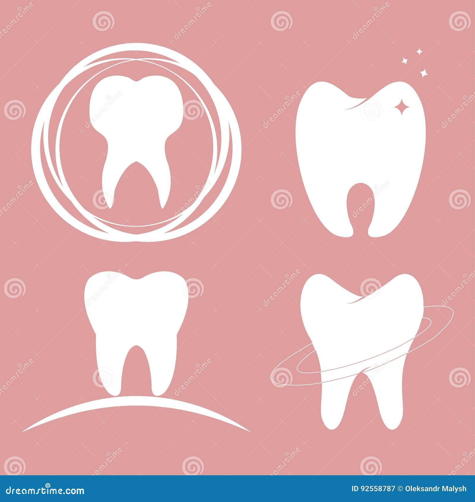 Denti dentari di progettazione messi
