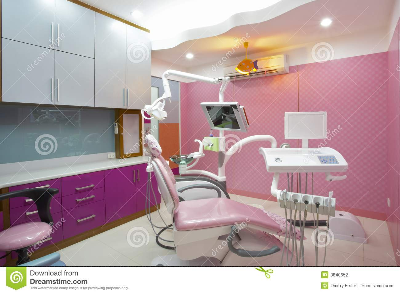 Dentist Clinic Stock Photography - Image: 3840652