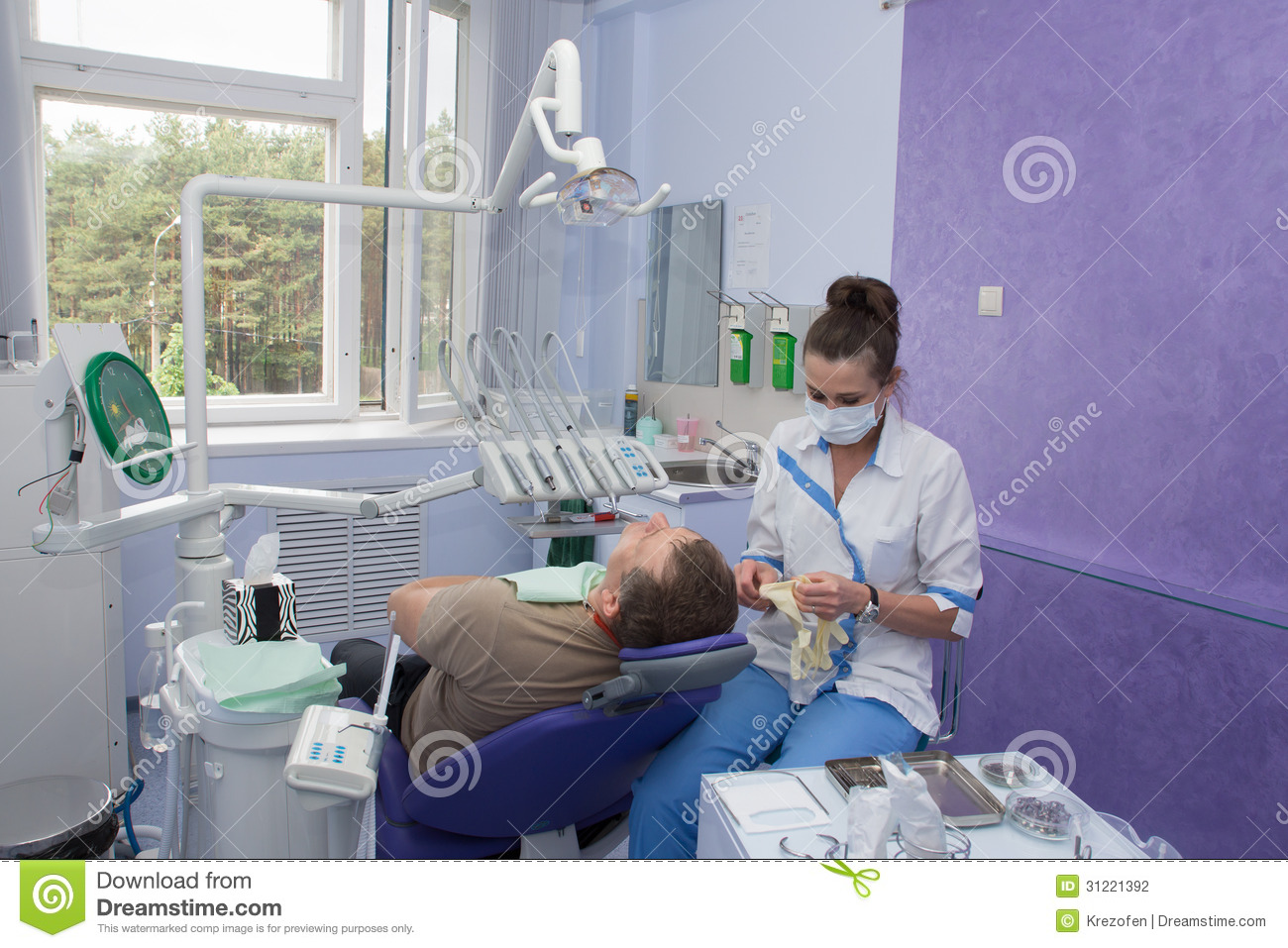 Dentist And Patient Stock Photography Image 31221392