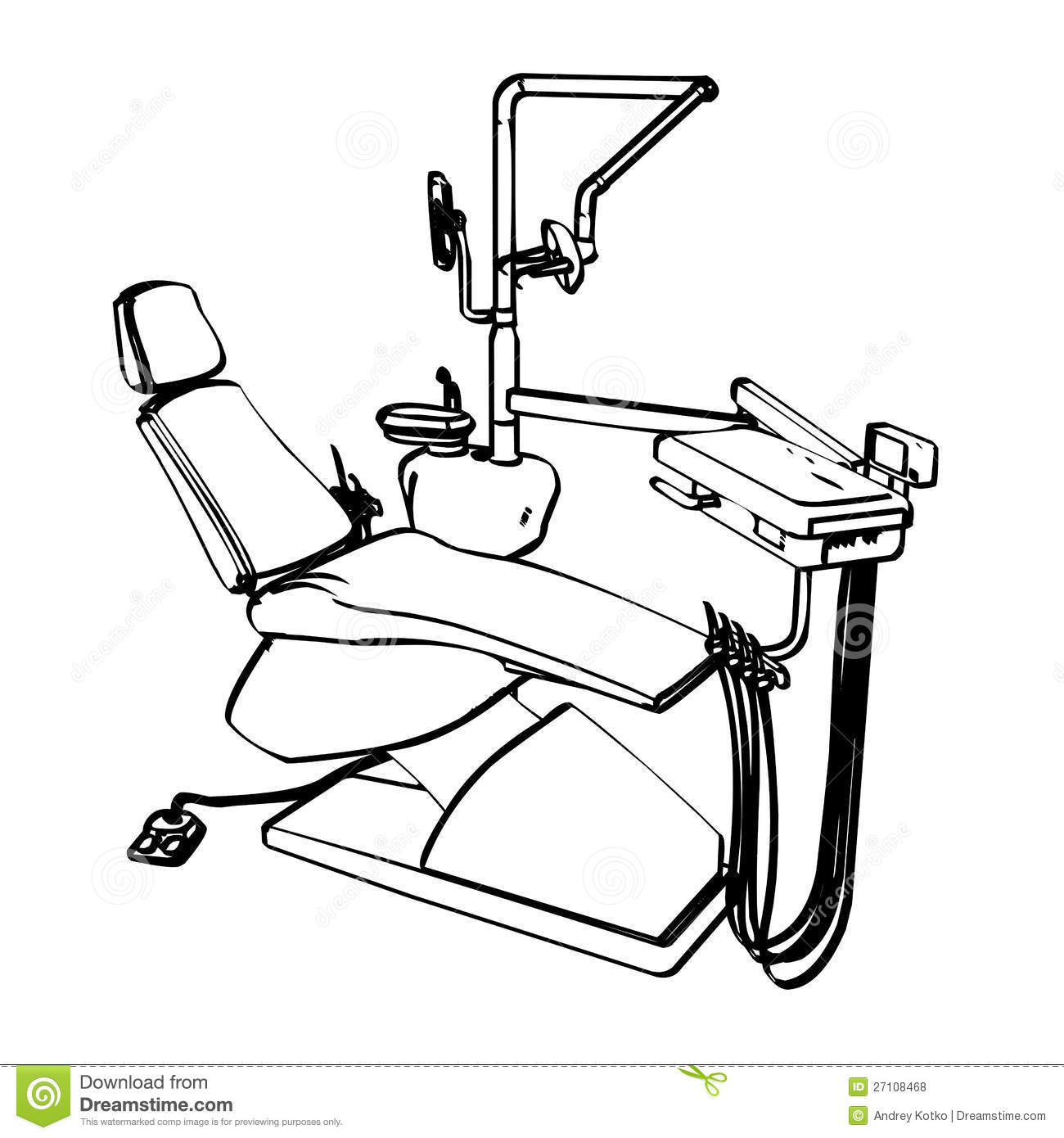 dentists chair royalty free stock photos image 27108468