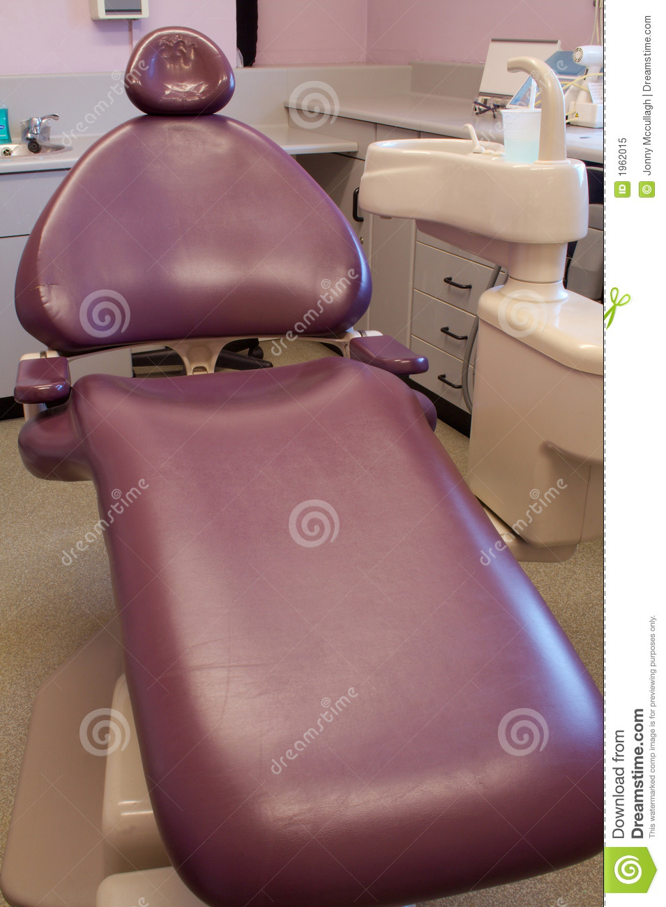 Dentist S Chair Purple Royalty Free Stock Photo Image