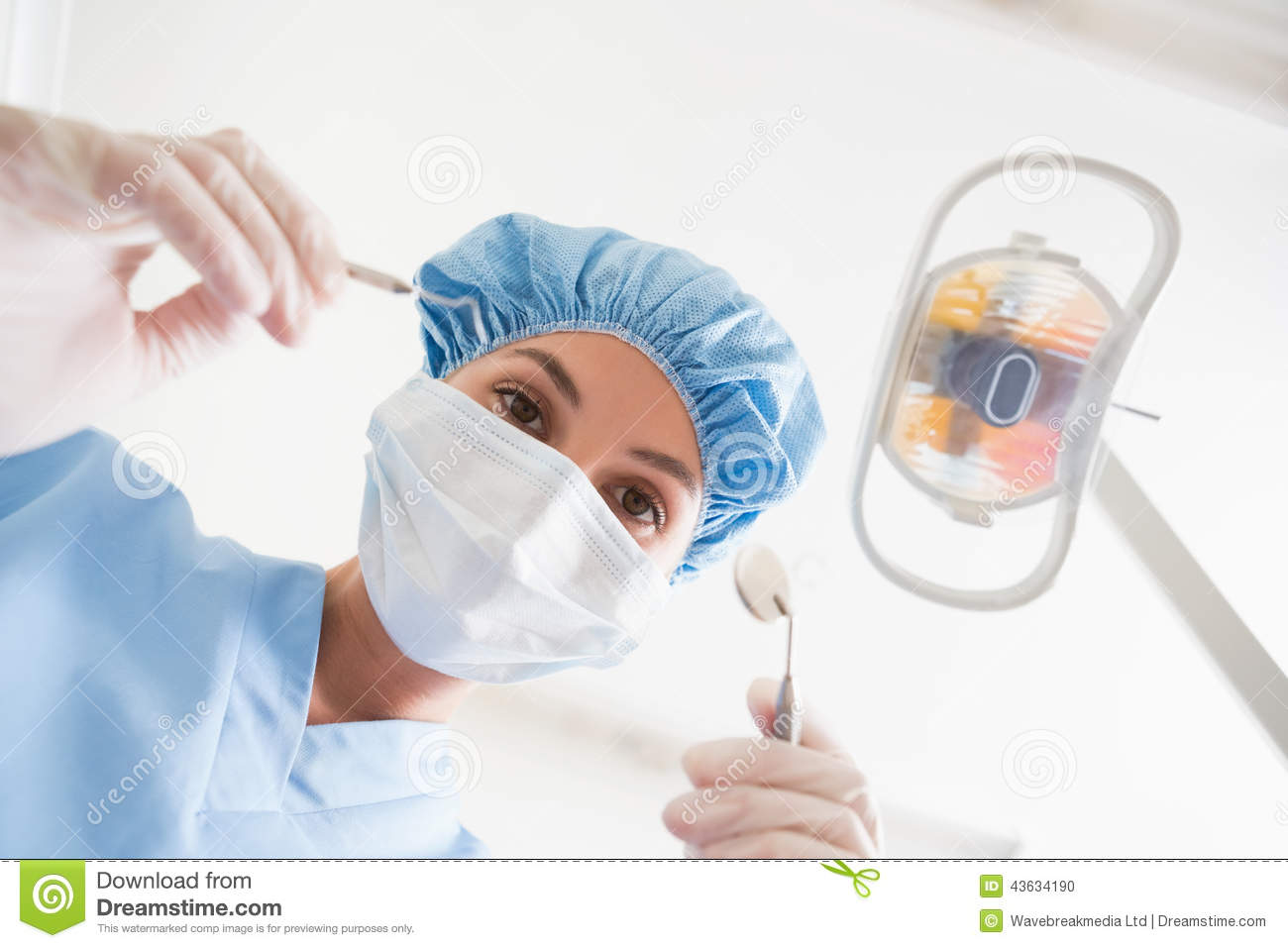 masque chirurgical dentiste