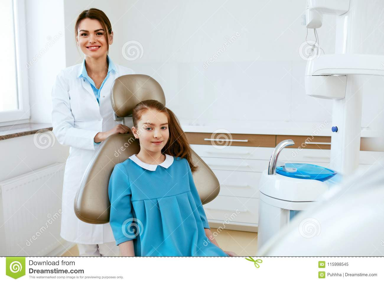 Dentistry Dentist Doctor And Patient In Clinic Stock Image Image Of Professional Oral 115998545