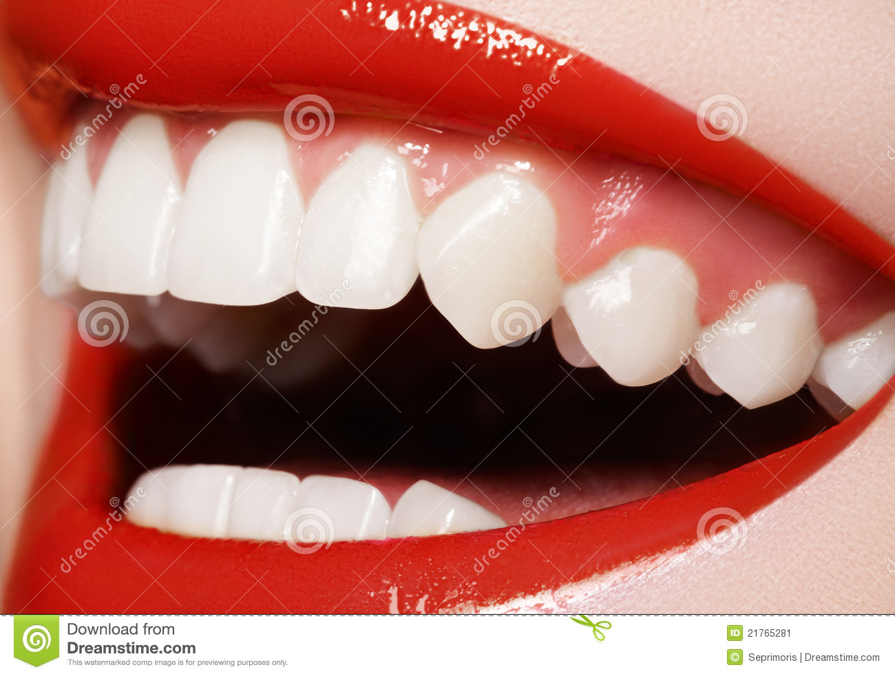 Dentistry. Happy Smile, Healthy White Teeth, Laugh Stock Image  Image