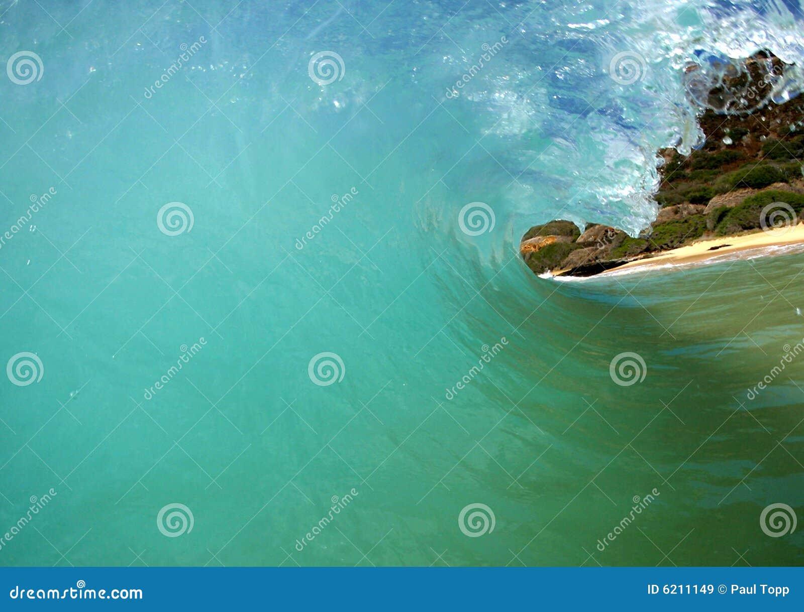 Dentro da onda