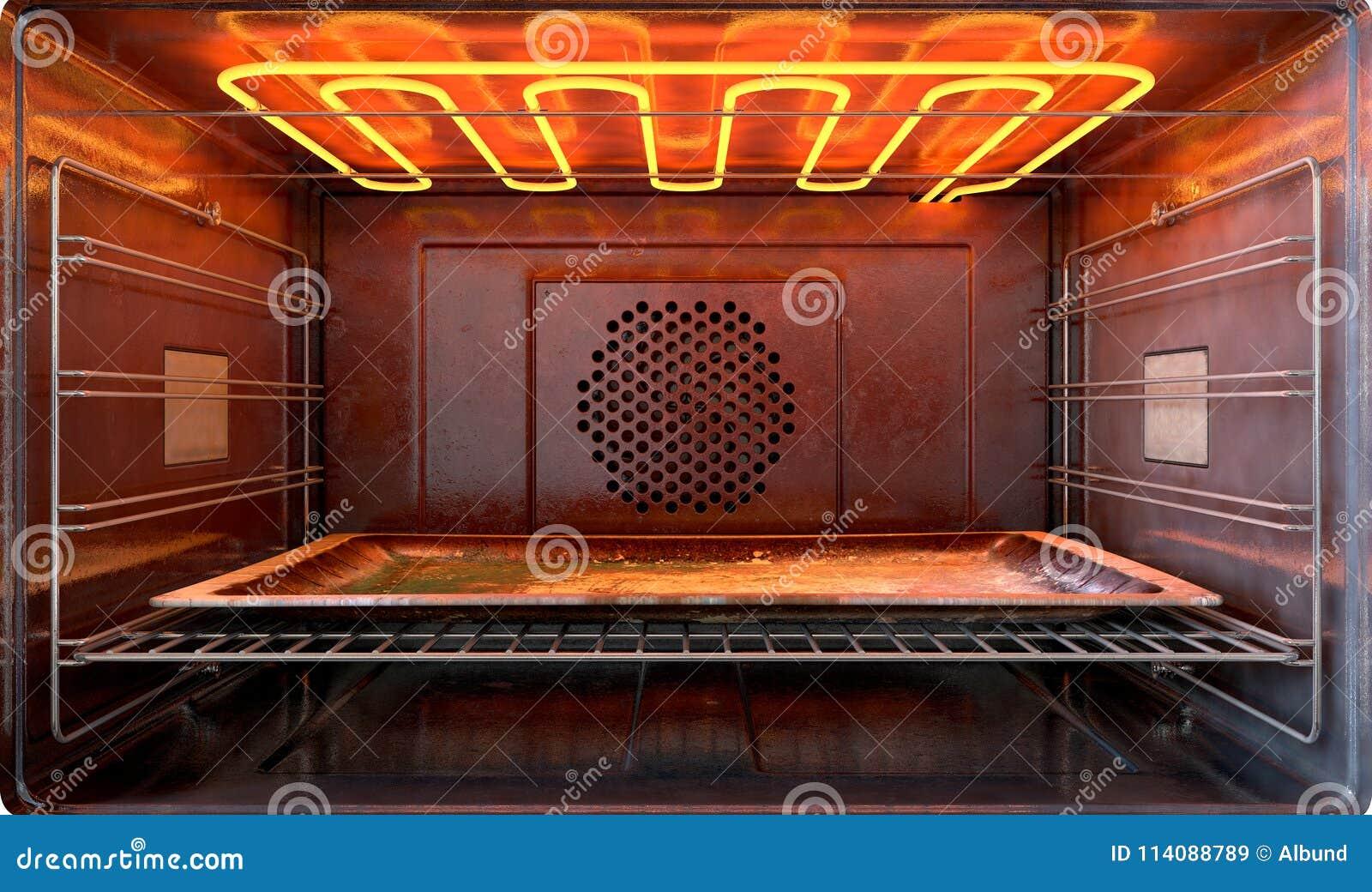 Dentro del horno