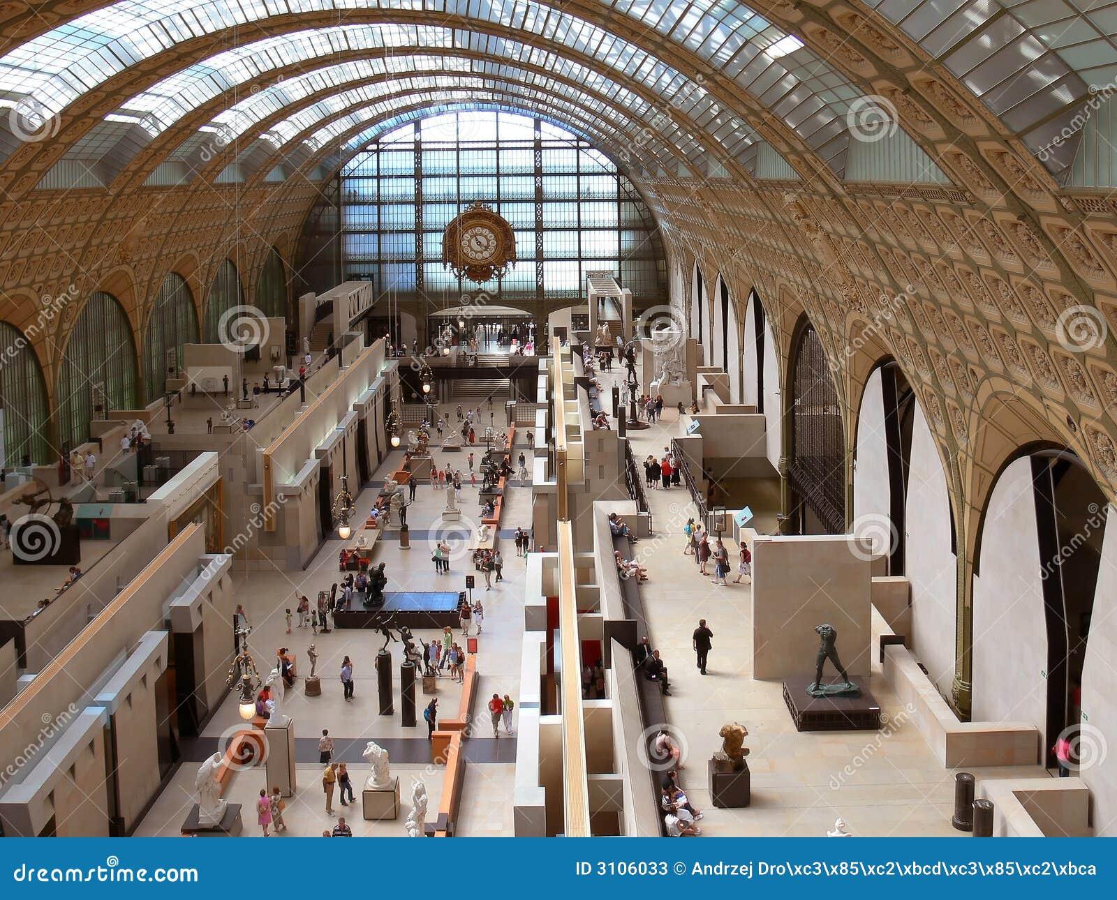 Dentro del museo D Orsay