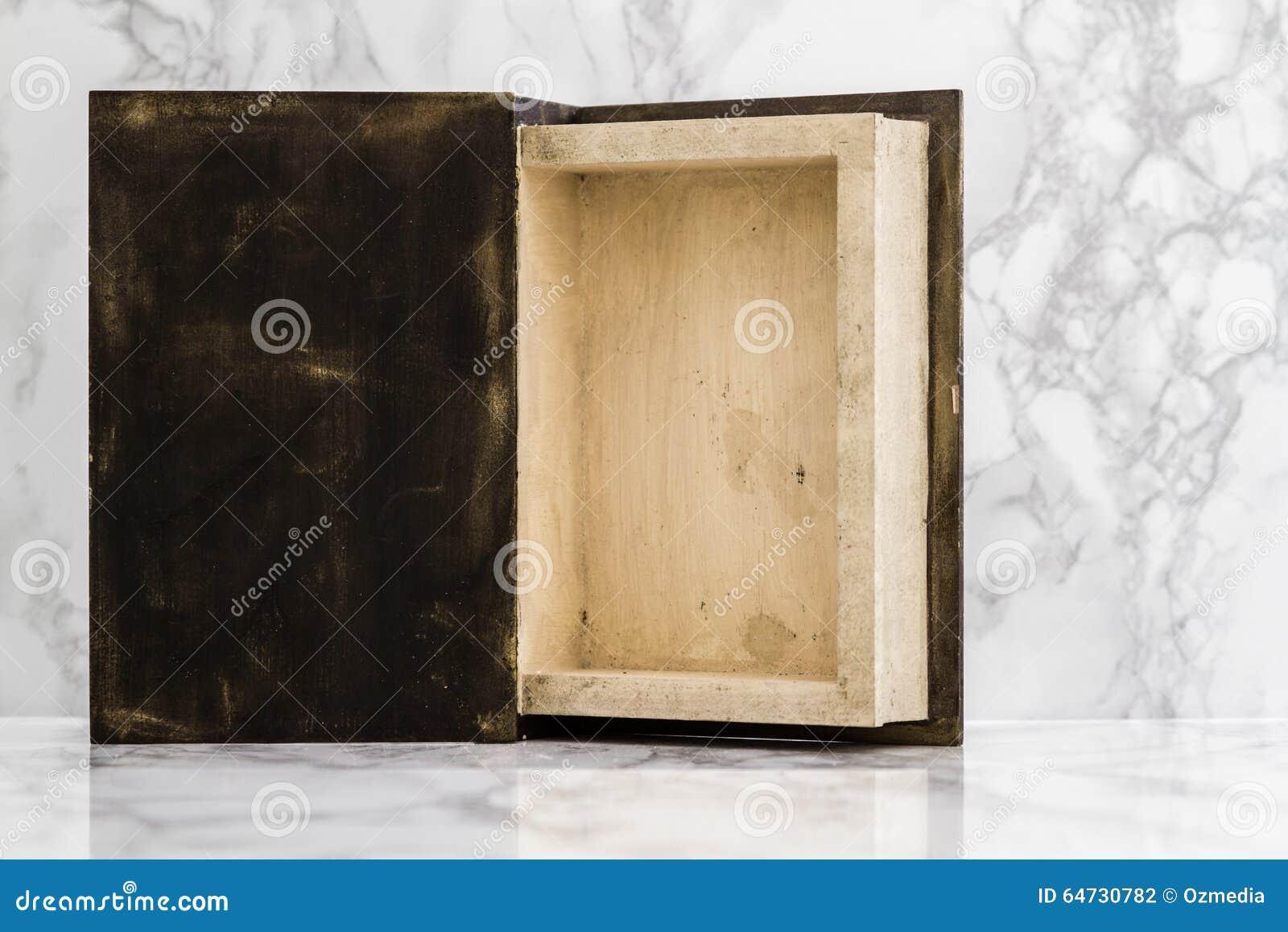 Dentro della scatola di legno