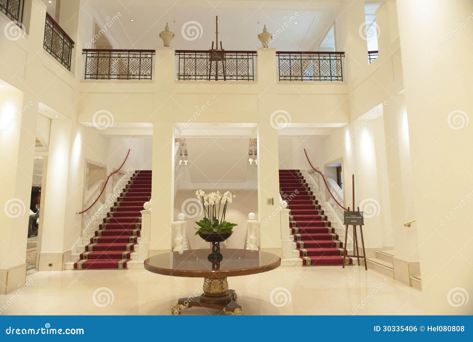 Dentro do hotel Adlon Berlim