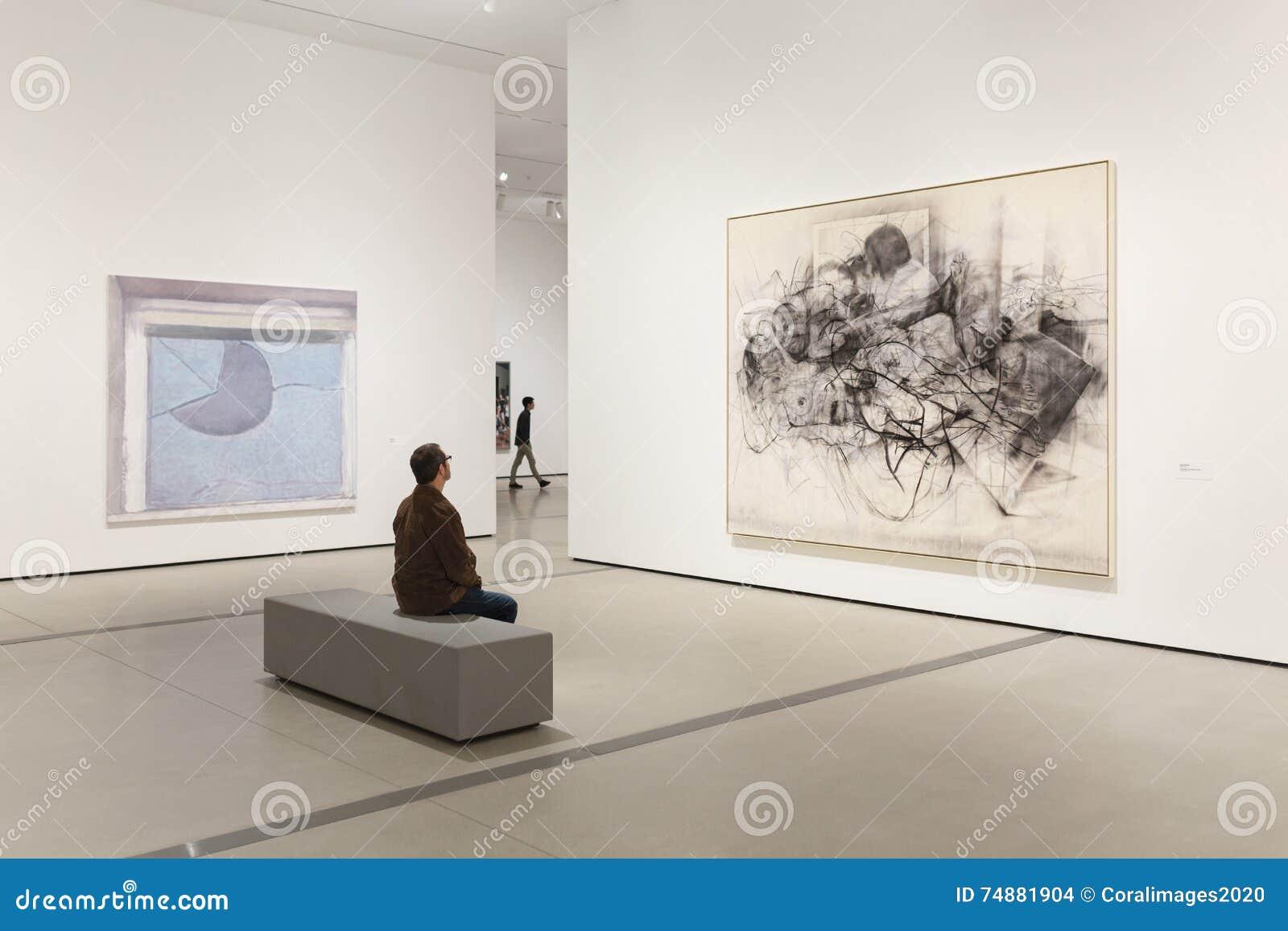 Dentro do largo, um museu de arte contemporânea em Los Angeles