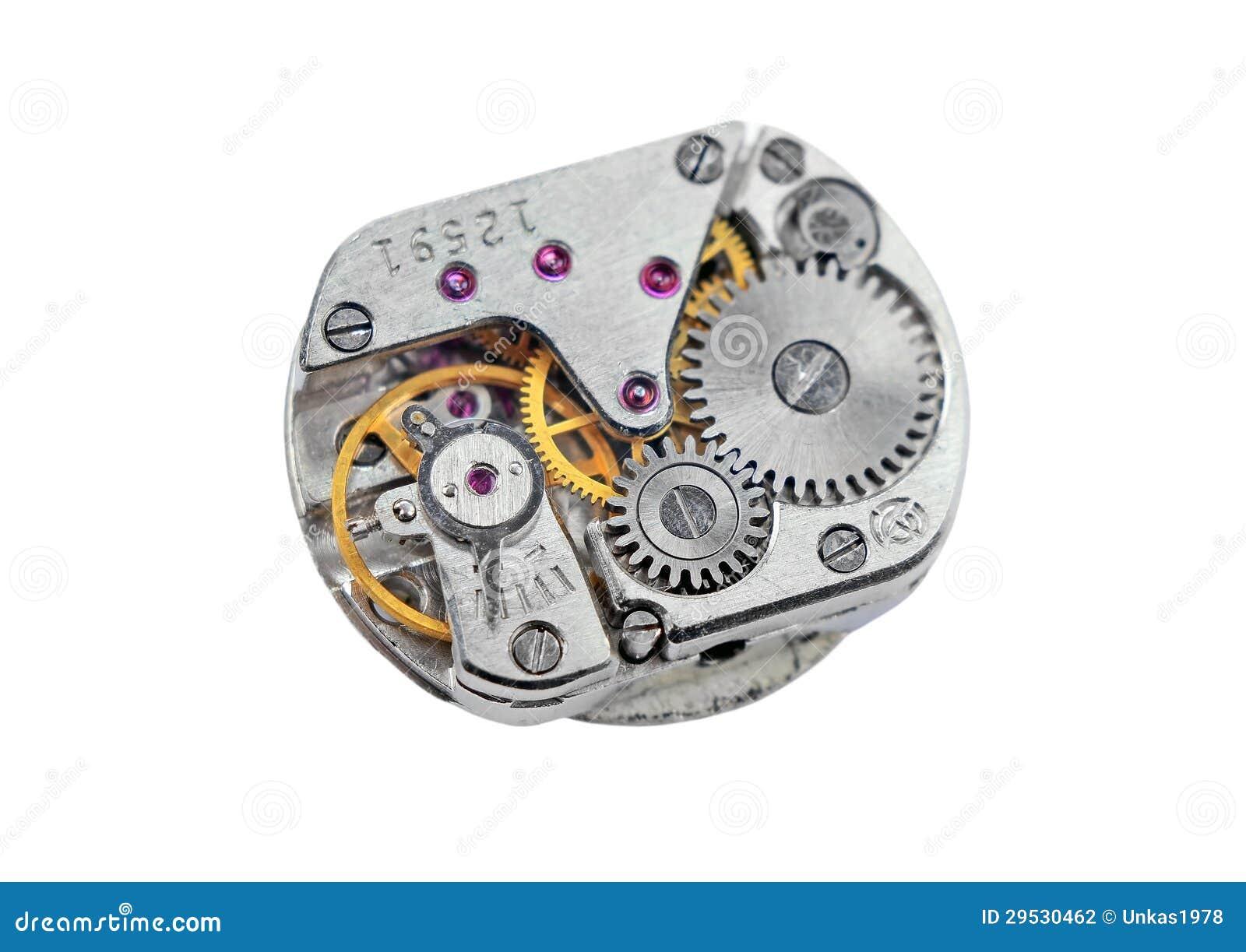 Dentro do pulso de disparo (maquinismo de relojoaria)