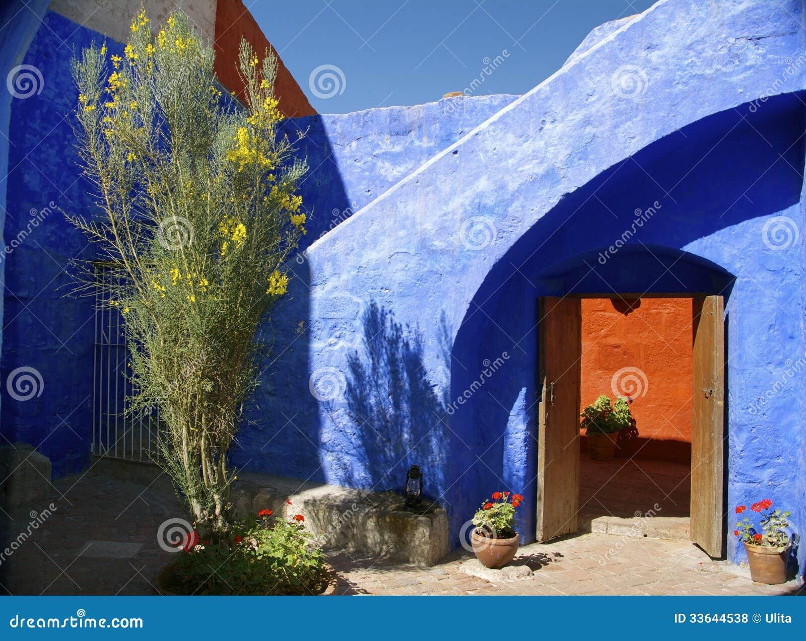 Dentro Santa Catalina Monastery, Arequipa