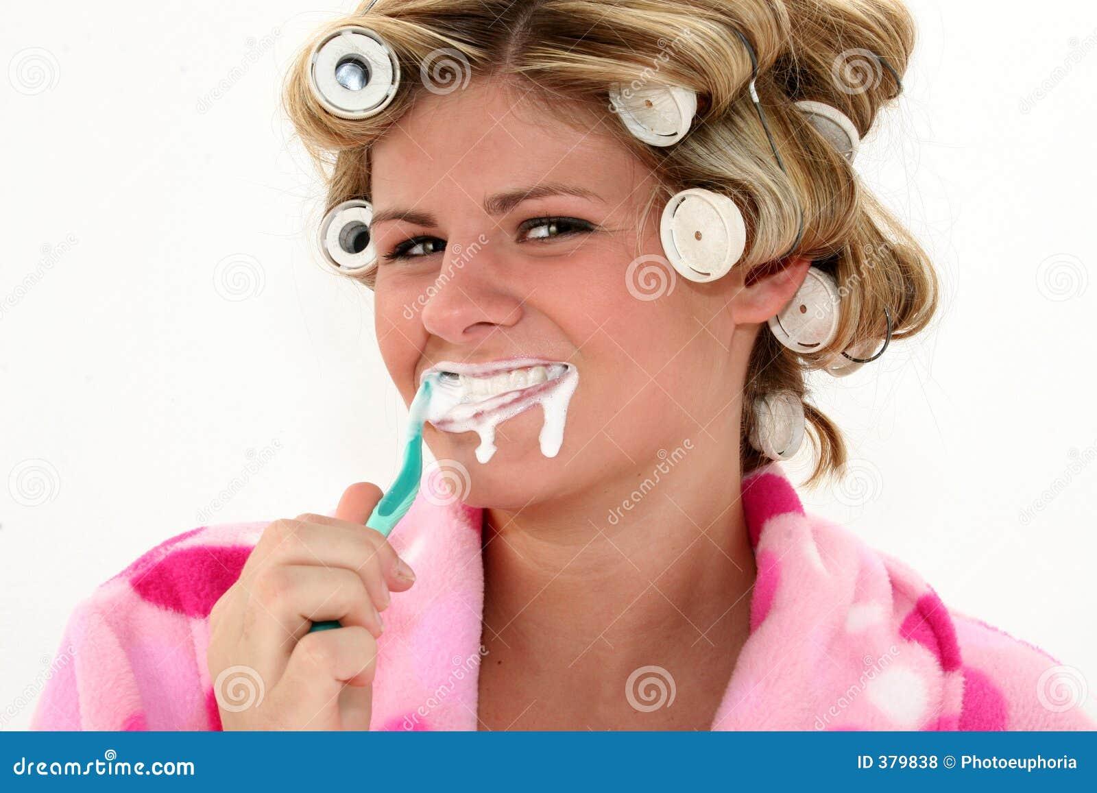 Dents de brossage
