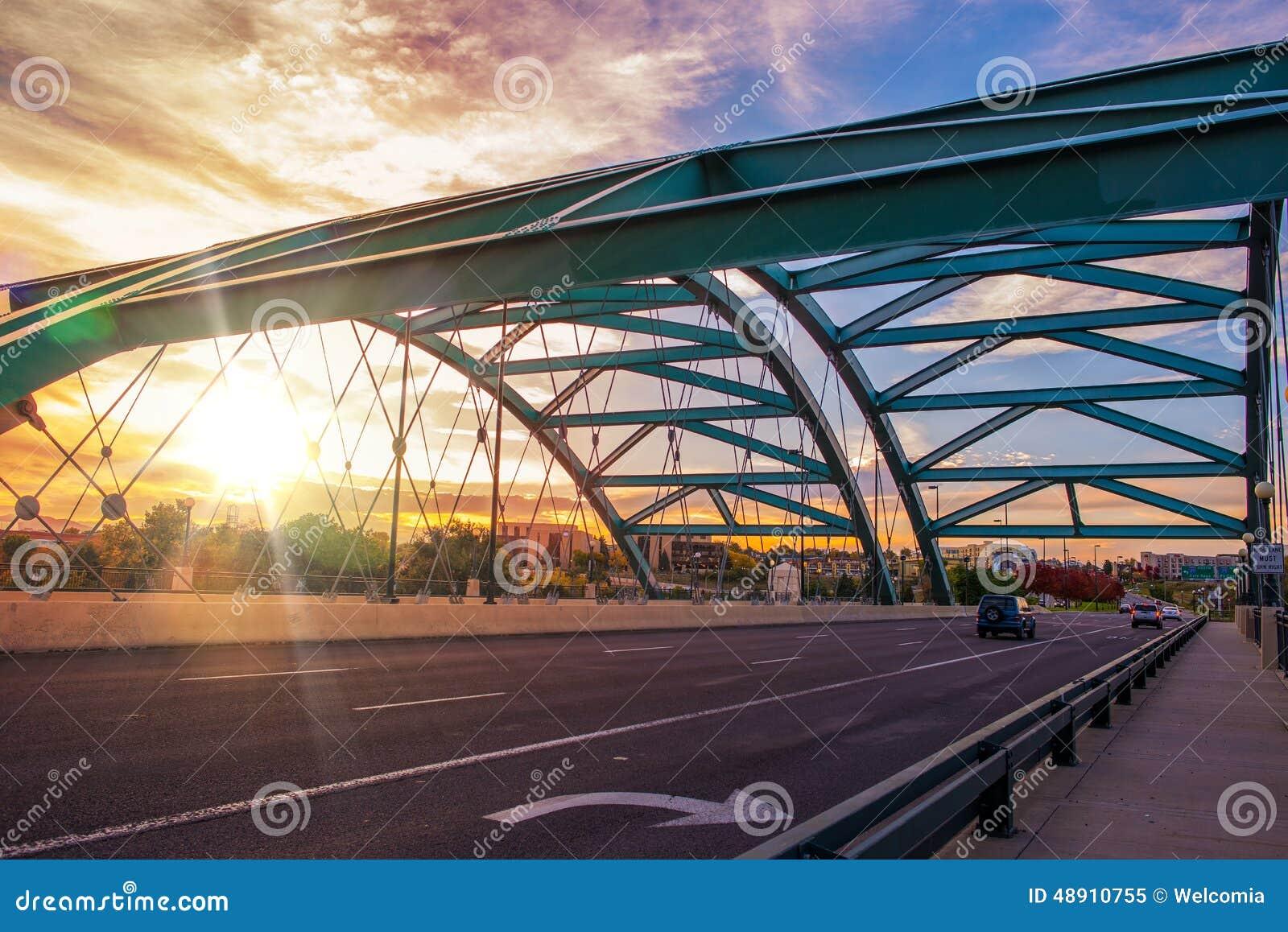 Denver Bridge Traffic