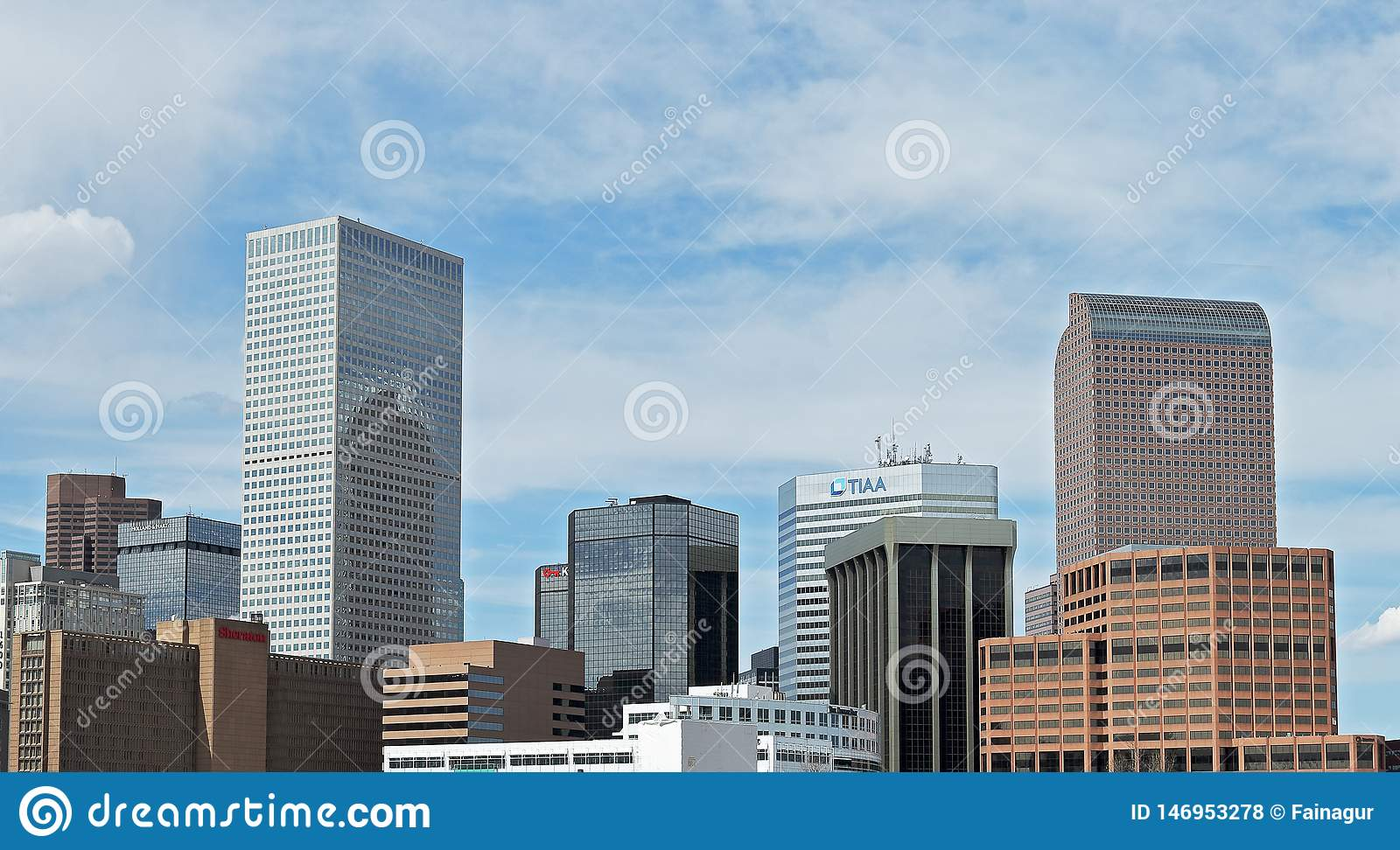 Denver, Colorado, USA, downtown cityscape