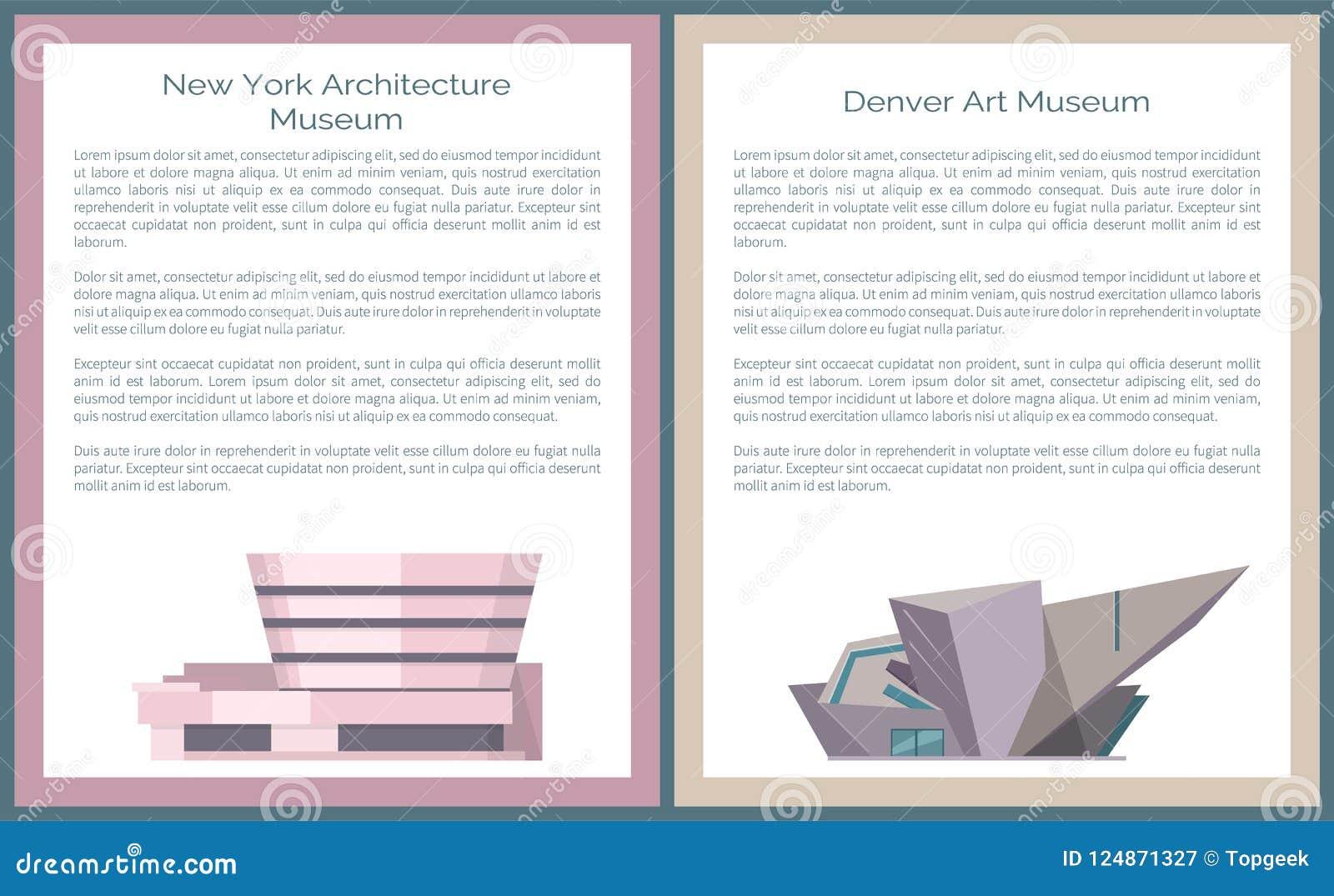 Denwerska sztuki tamy Nowy Jork architektura Guggenheim
