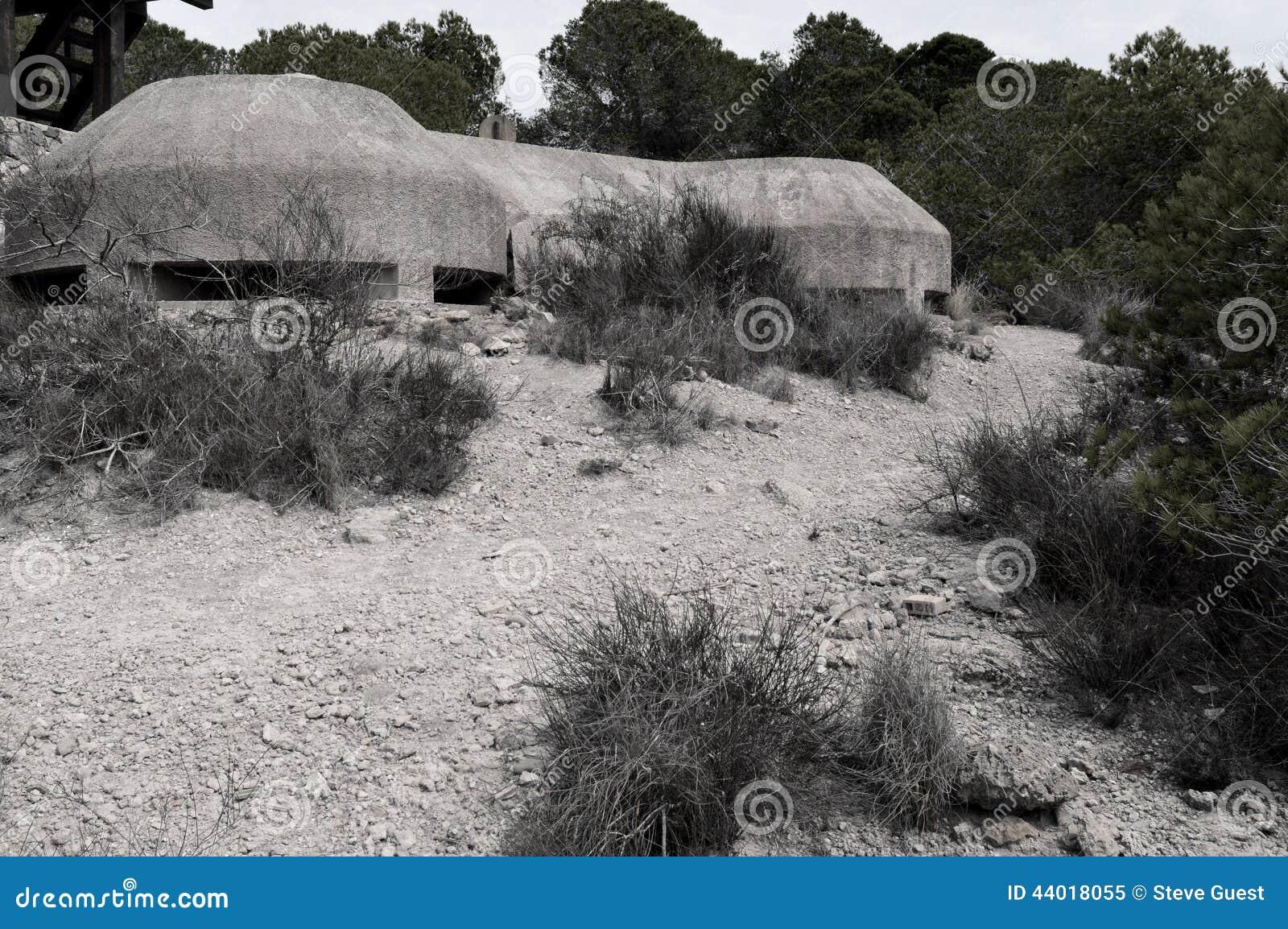 Depósito da guerra, guerra civil espanhola