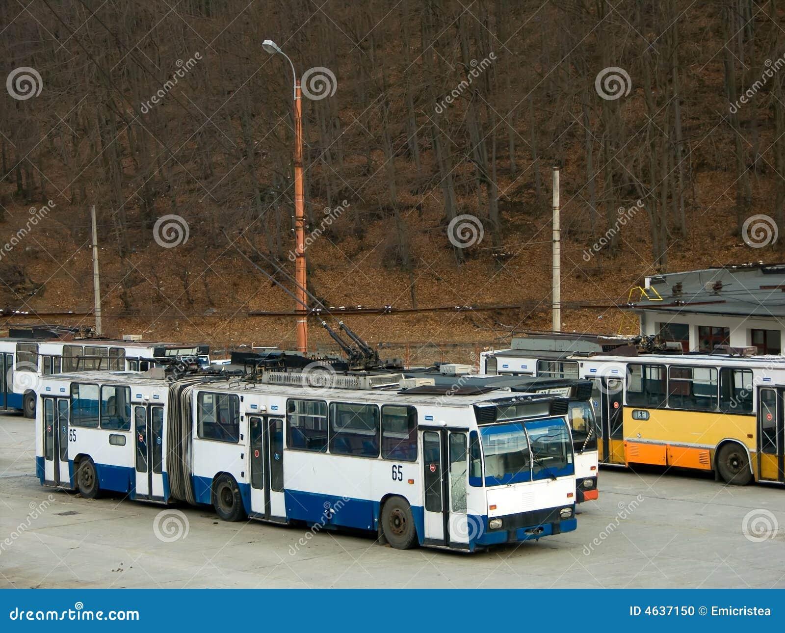 Depósito do Trolleybus