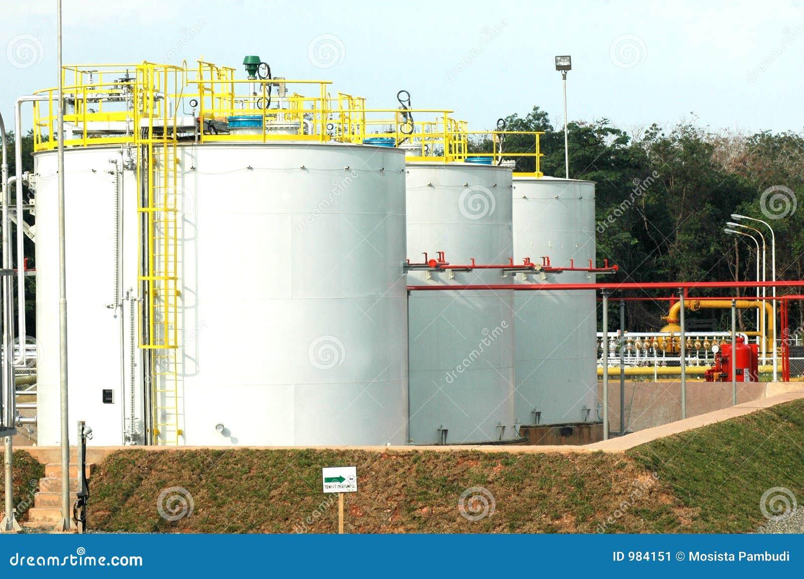 Depósitos de gas