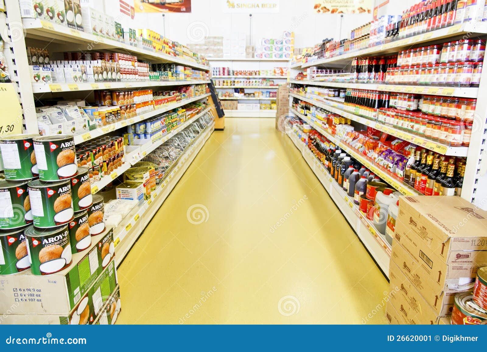 Sexo en la tienda de comestibles