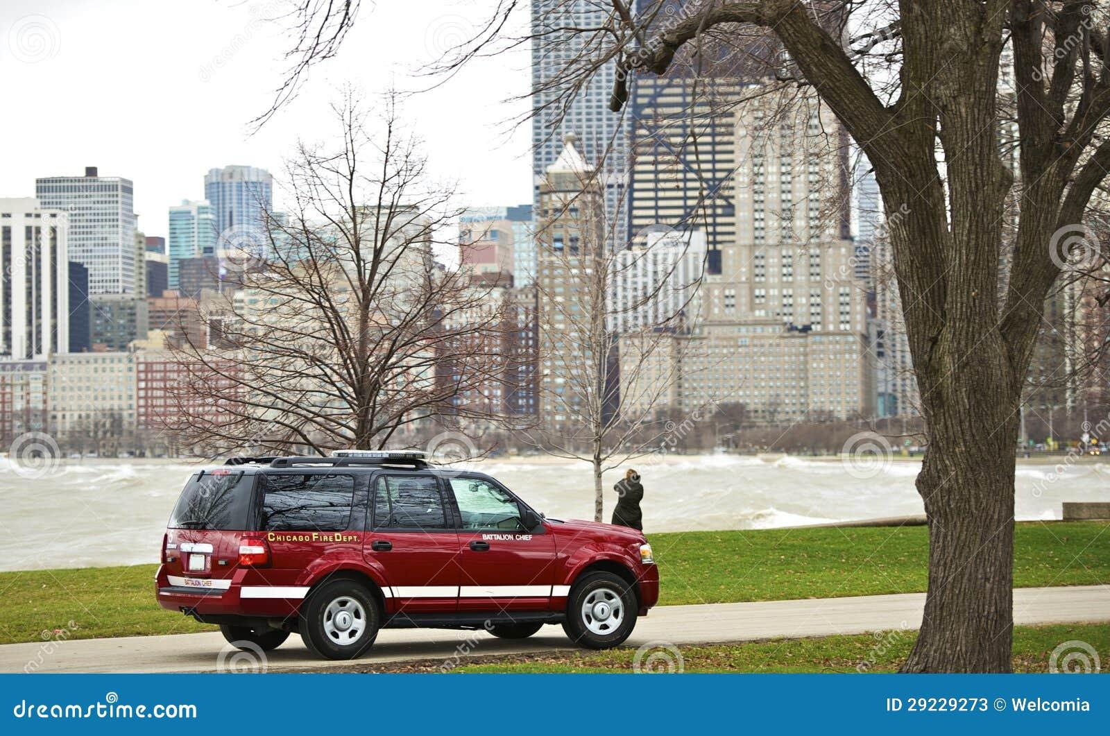 Download Departamento Dos Bombeiros De Chicago Imagem de Stock - Imagem de midwest, automóvel: 29229273