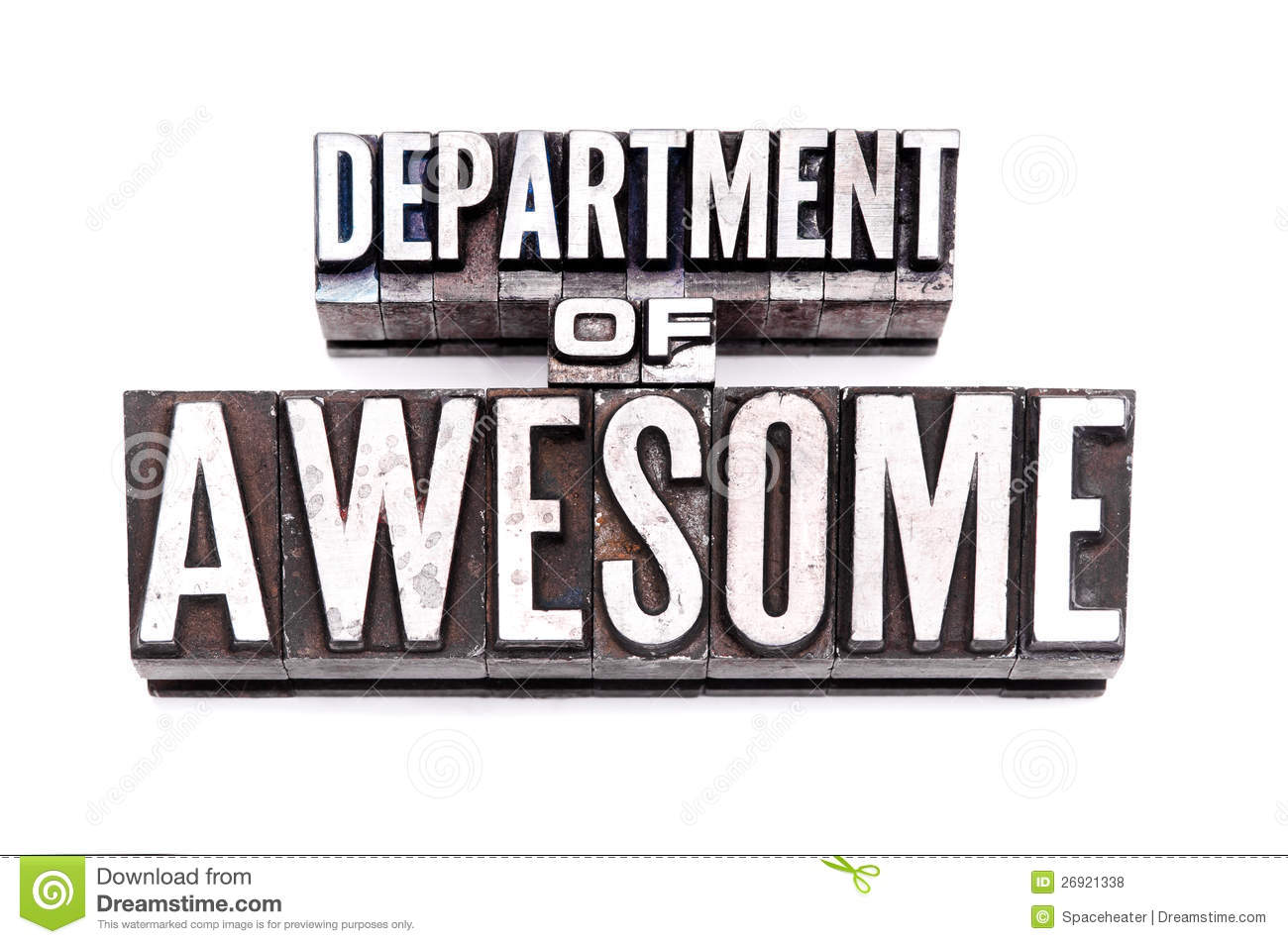 Department Of Awesome Royalty Free Stock Photos Image