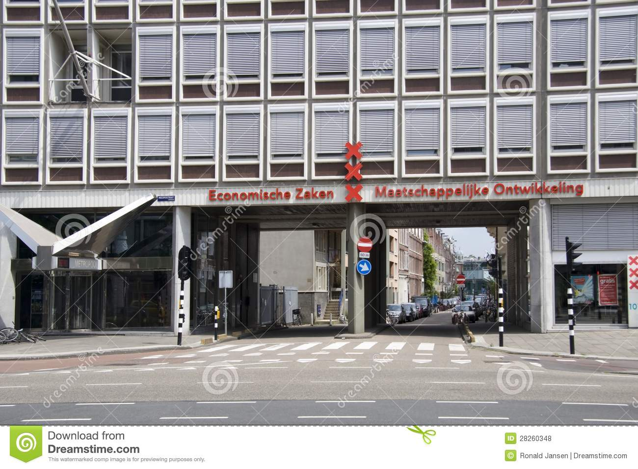 The department of economic affairs and social development for Amsterdam economica