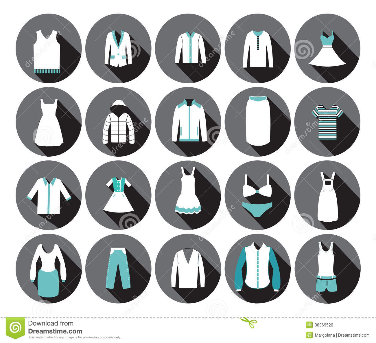 Clothing Store Icon vector Vector by pongsuwan