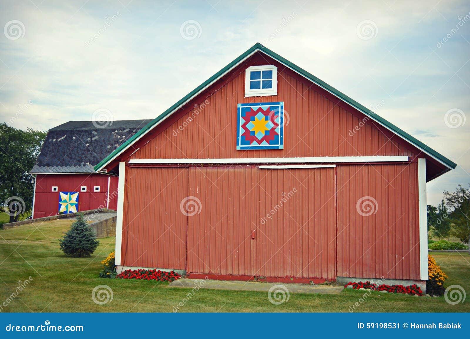 Dependencia roja del granero