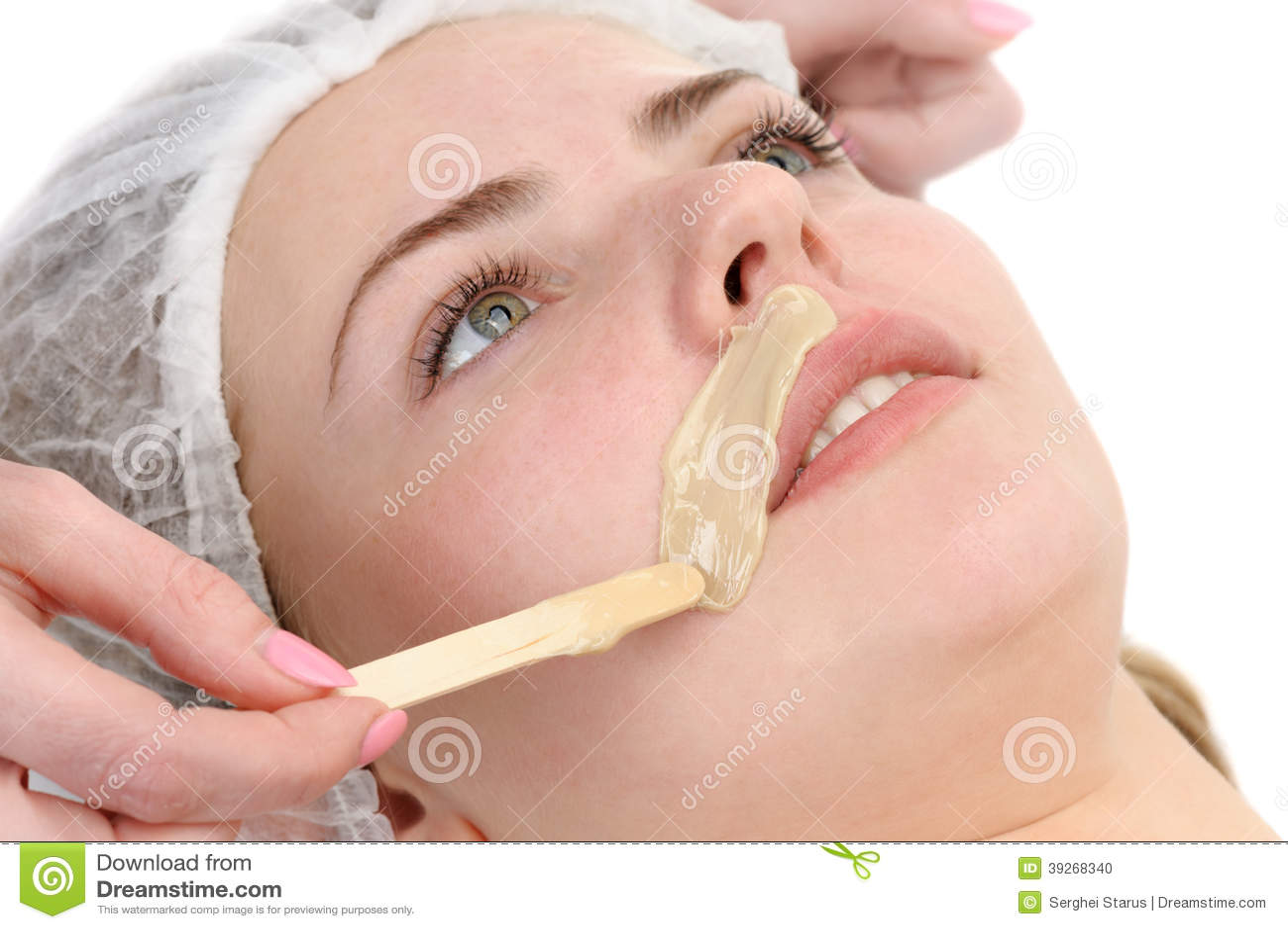 Depilation Mustache