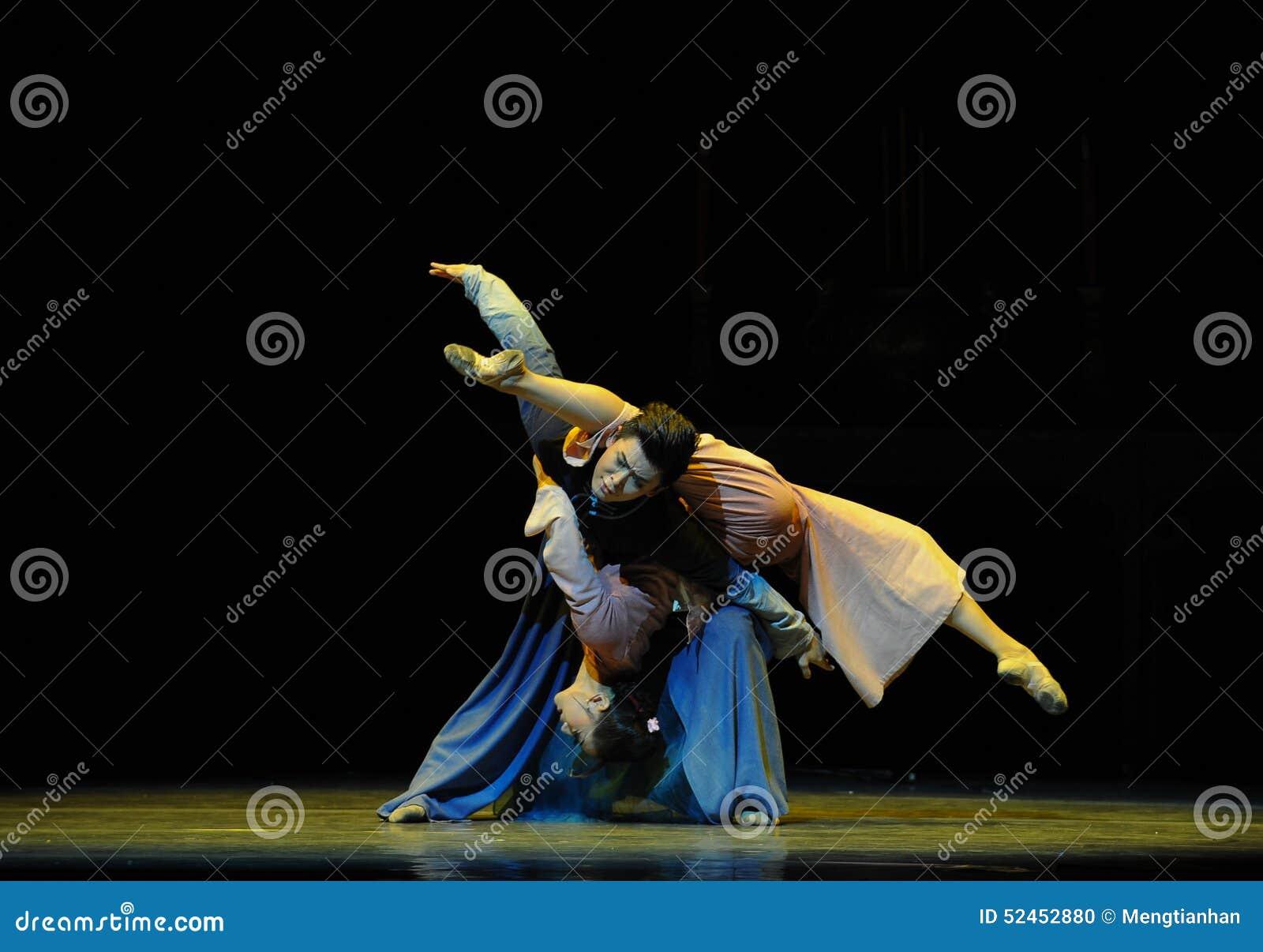 Depois que ato do again-The da reunião do desastre terceiro de eventos do drama-Shawan da dança do passado