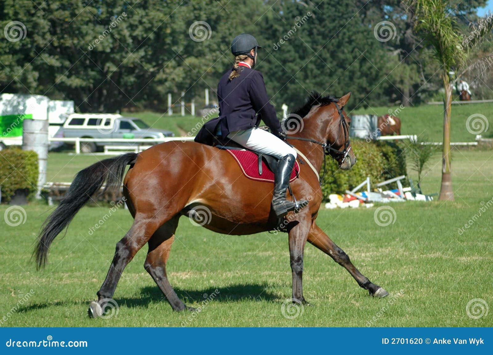 Deporte del montar a caballo