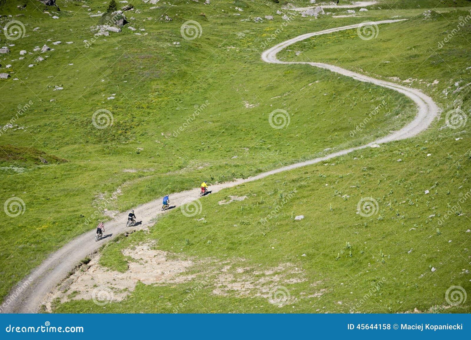 Deporte Freeride del montar a caballo de Mountainbiker