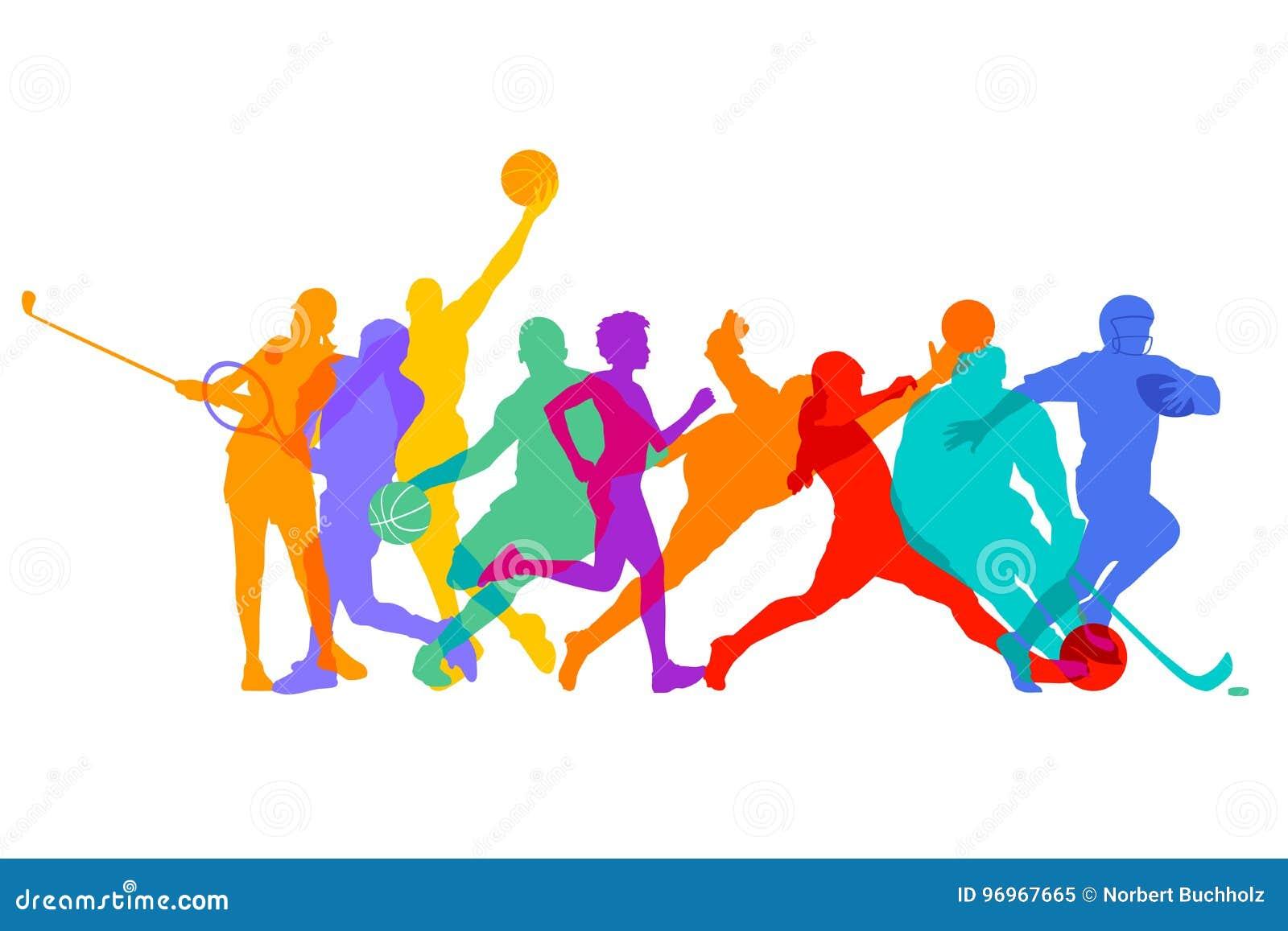 Deportes, juegos y atletas