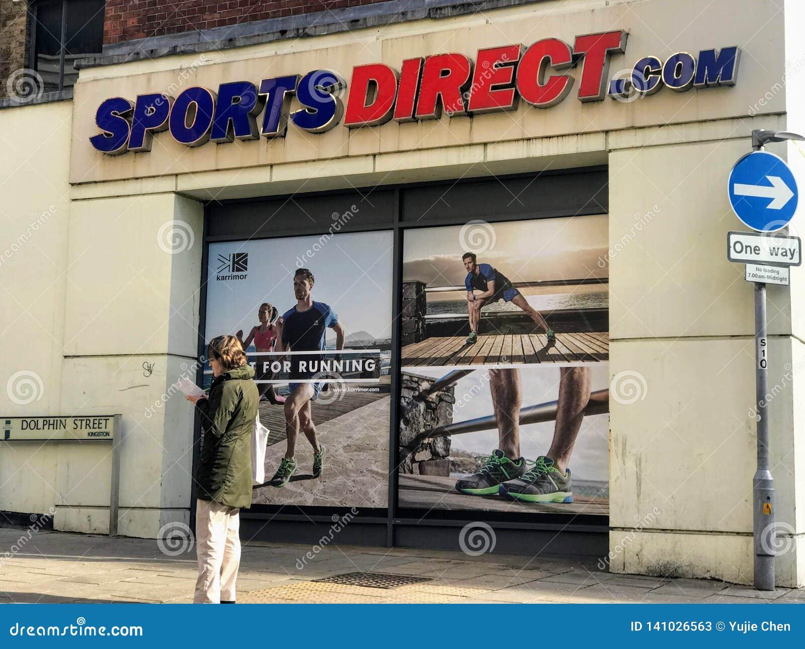Deportes tienda directa, Londres