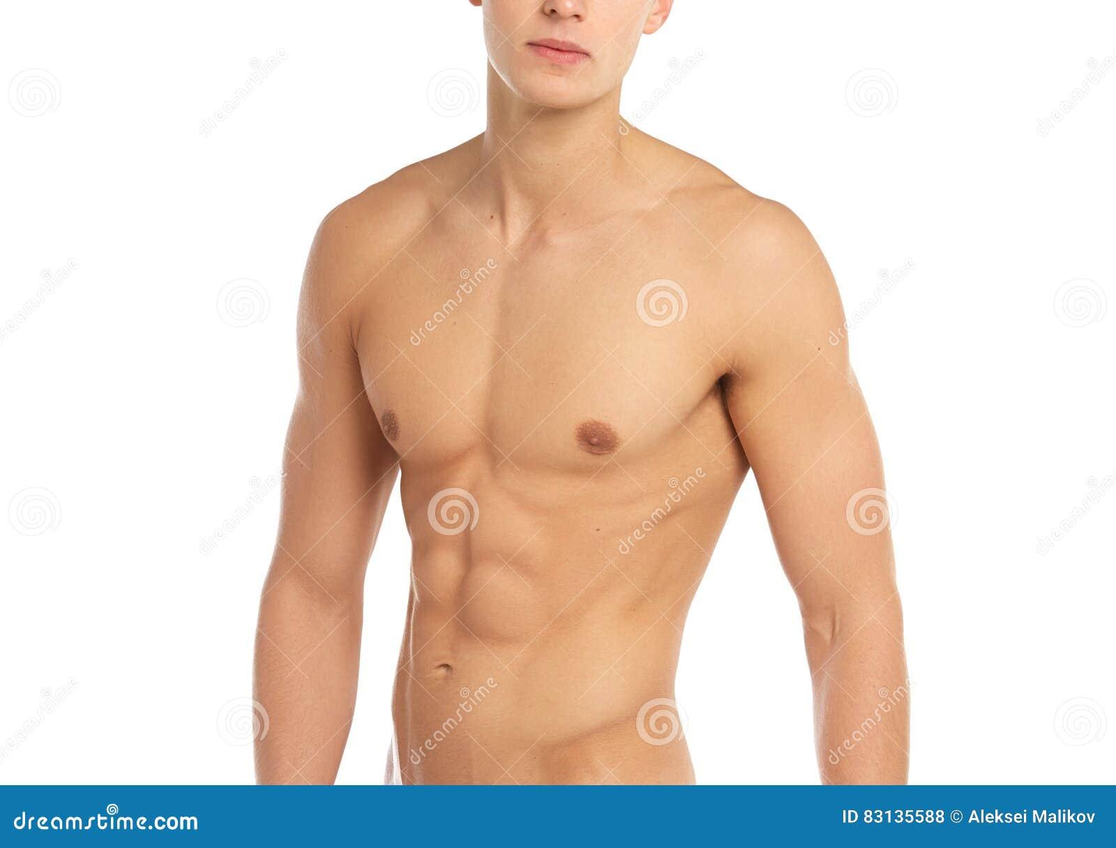 Deportes Y Tema De La Aptitud: Situación Muscular Deportiva Desnuda ...