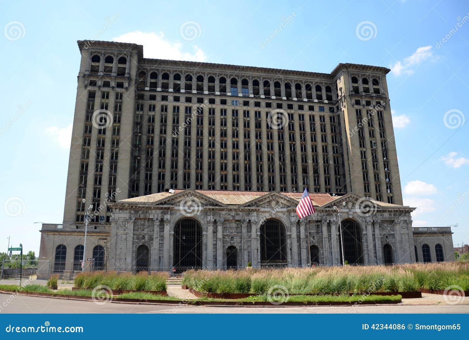Deposito centrale del Michigan, Detroit