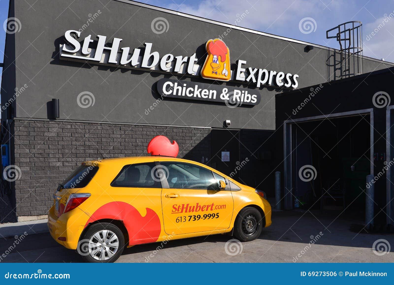 Deposito della st Hubert ed automobile di consegna