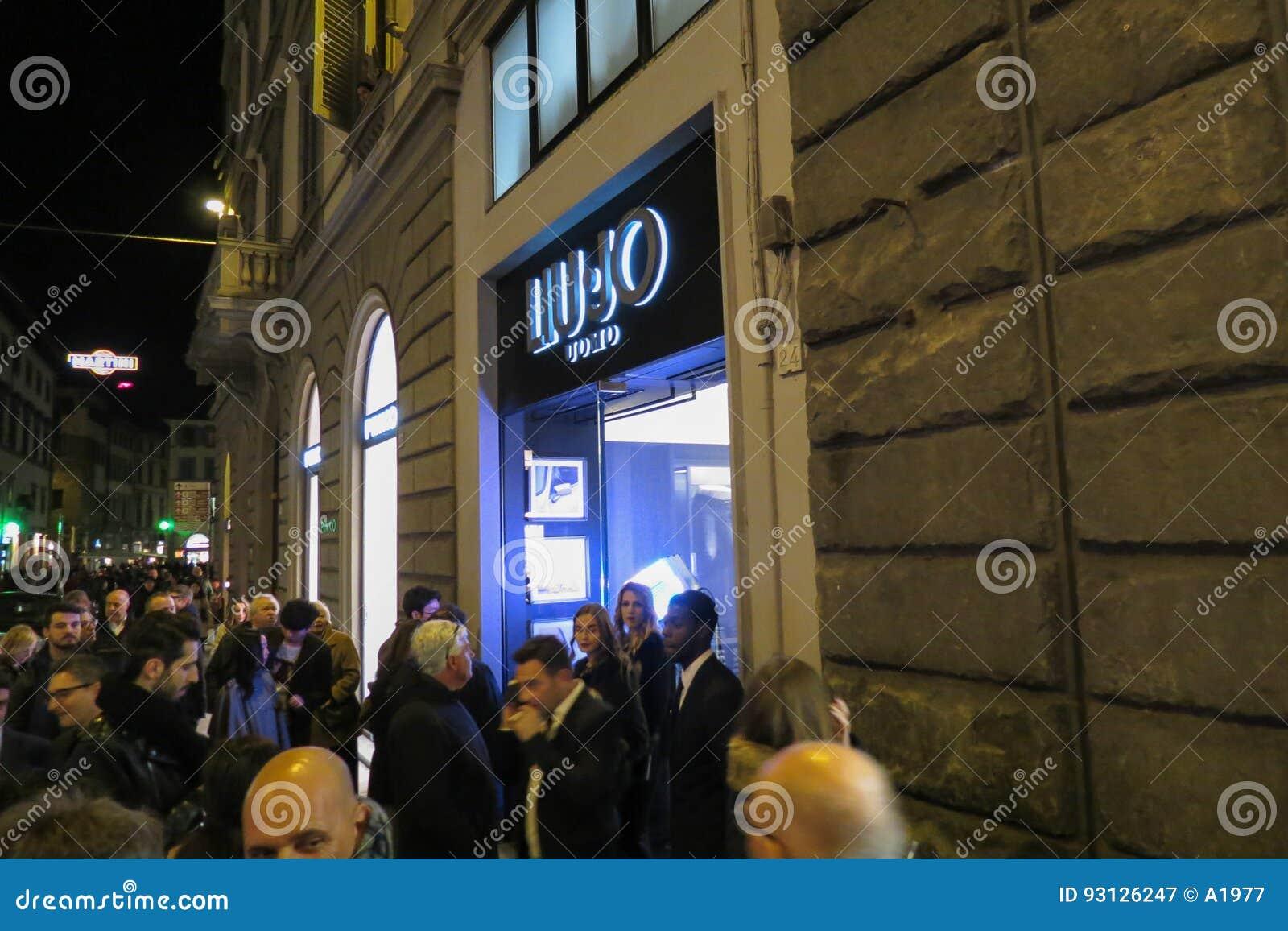 Deposito Di Liu Jo Uomo A Firenze Fotografia Editoriale